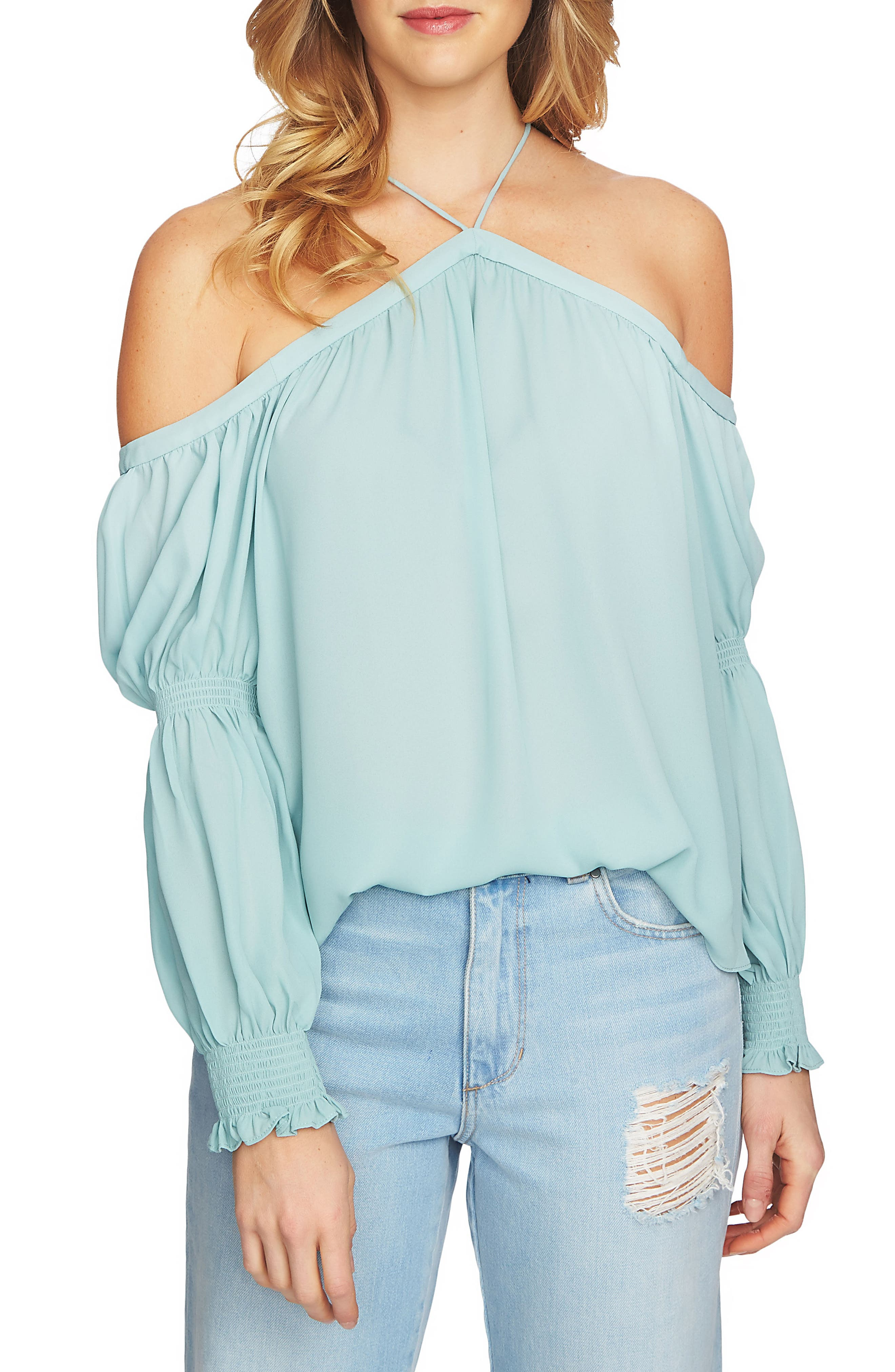 Off the Shoulder Blouse,                             Main thumbnail 2, color,