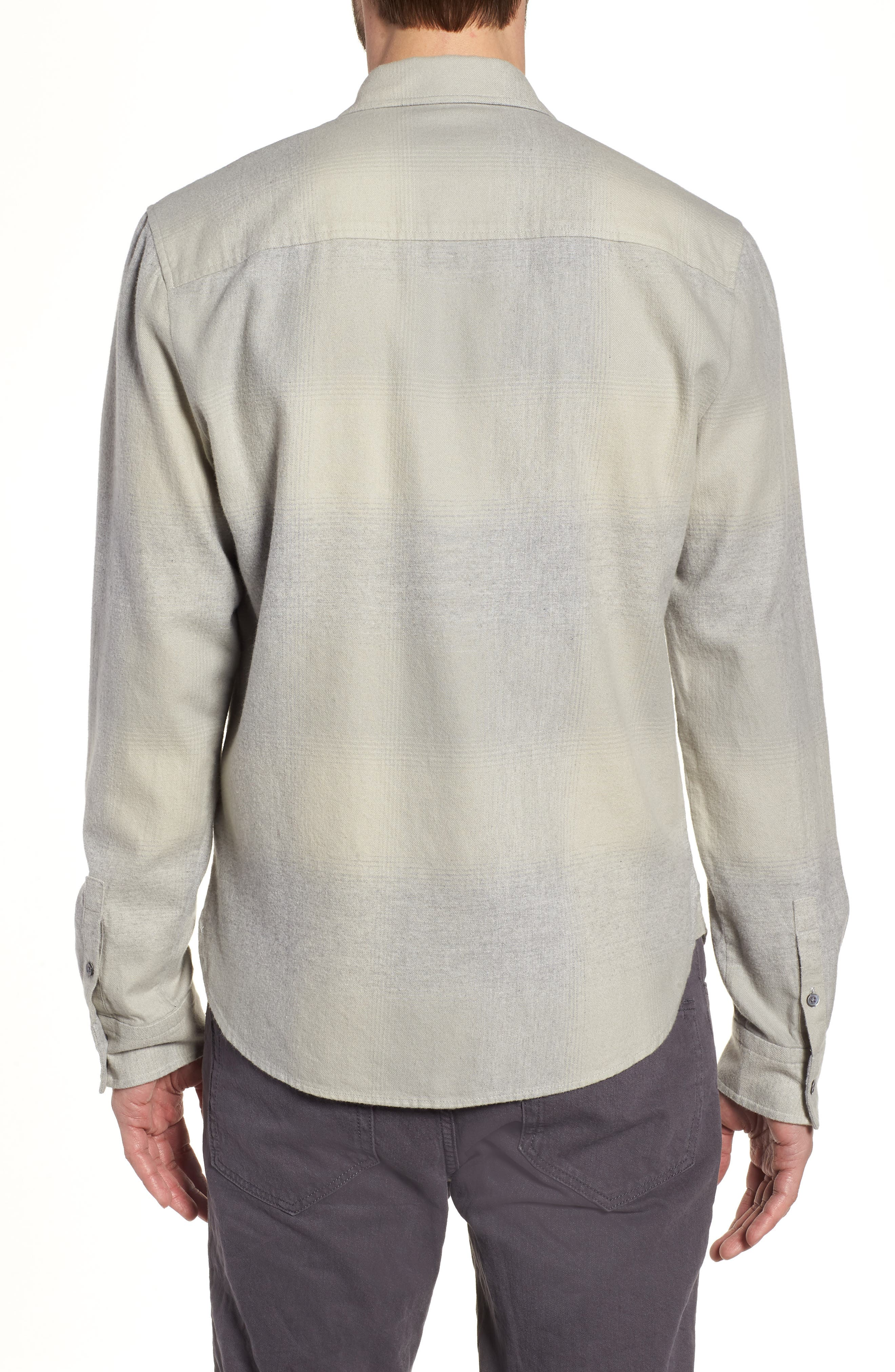 JAMES PERSE,                             Ghost Regular Fit Plaid Sport Shirt,                             Alternate thumbnail 2, color,                             086