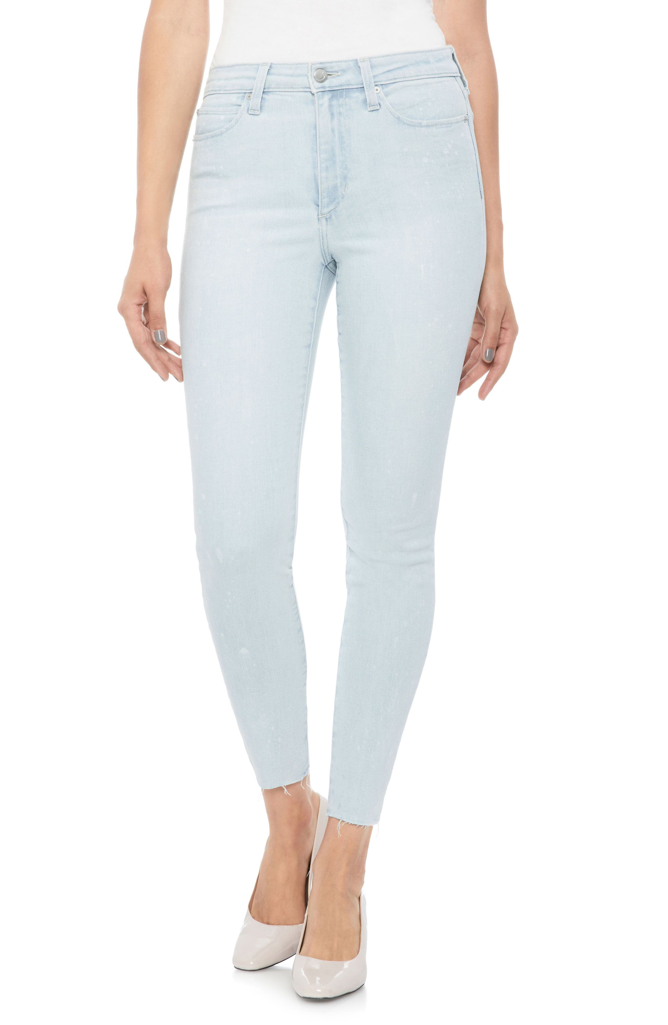 JOE'S,                             Flawless - Charlie High Waist Ankle Skinny Jeans,                             Main thumbnail 1, color,                             450