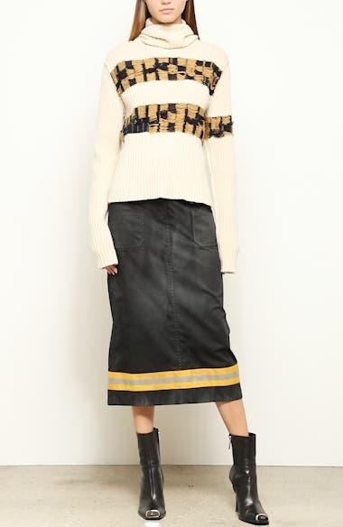Quilt Jacquard Stripe Sweater, video thumbnail
