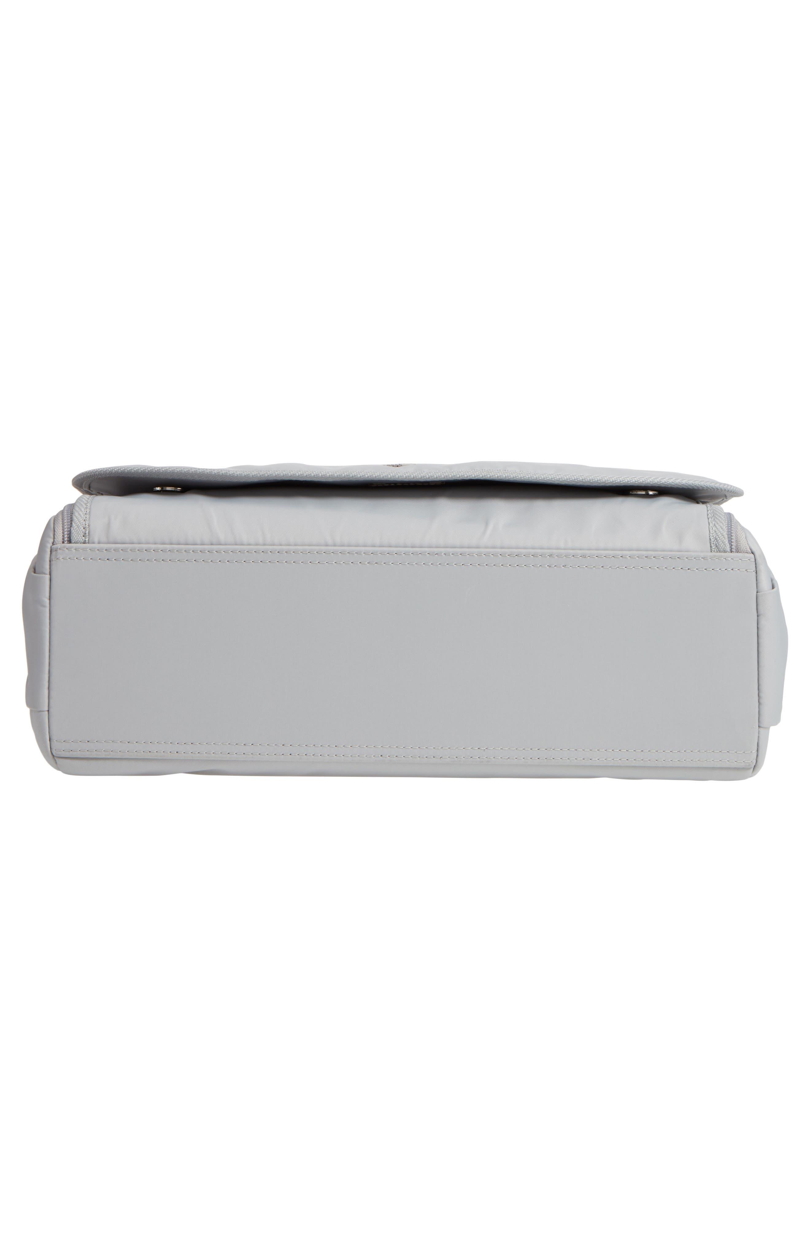 Nylon Messenger Diaper Bag,                             Alternate thumbnail 6, color,                             054