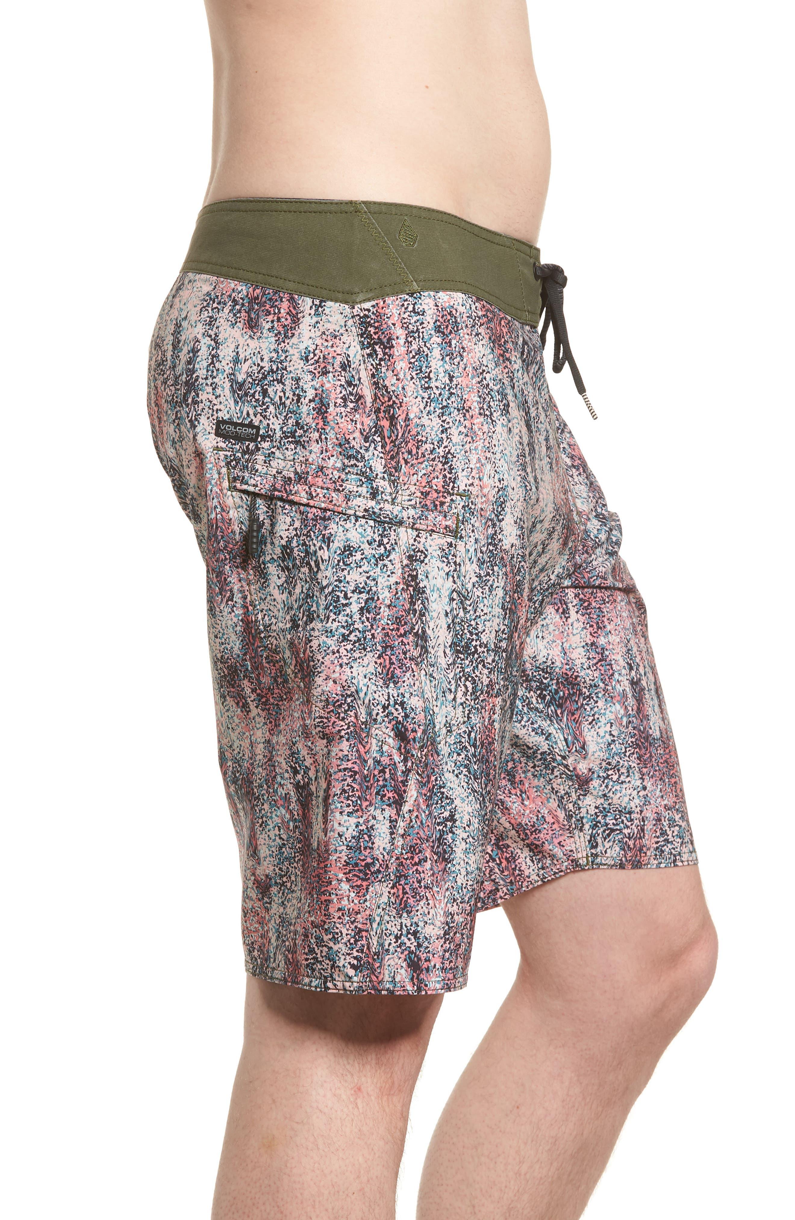 Plasm Mod Board Shorts,                             Alternate thumbnail 3, color,                             020