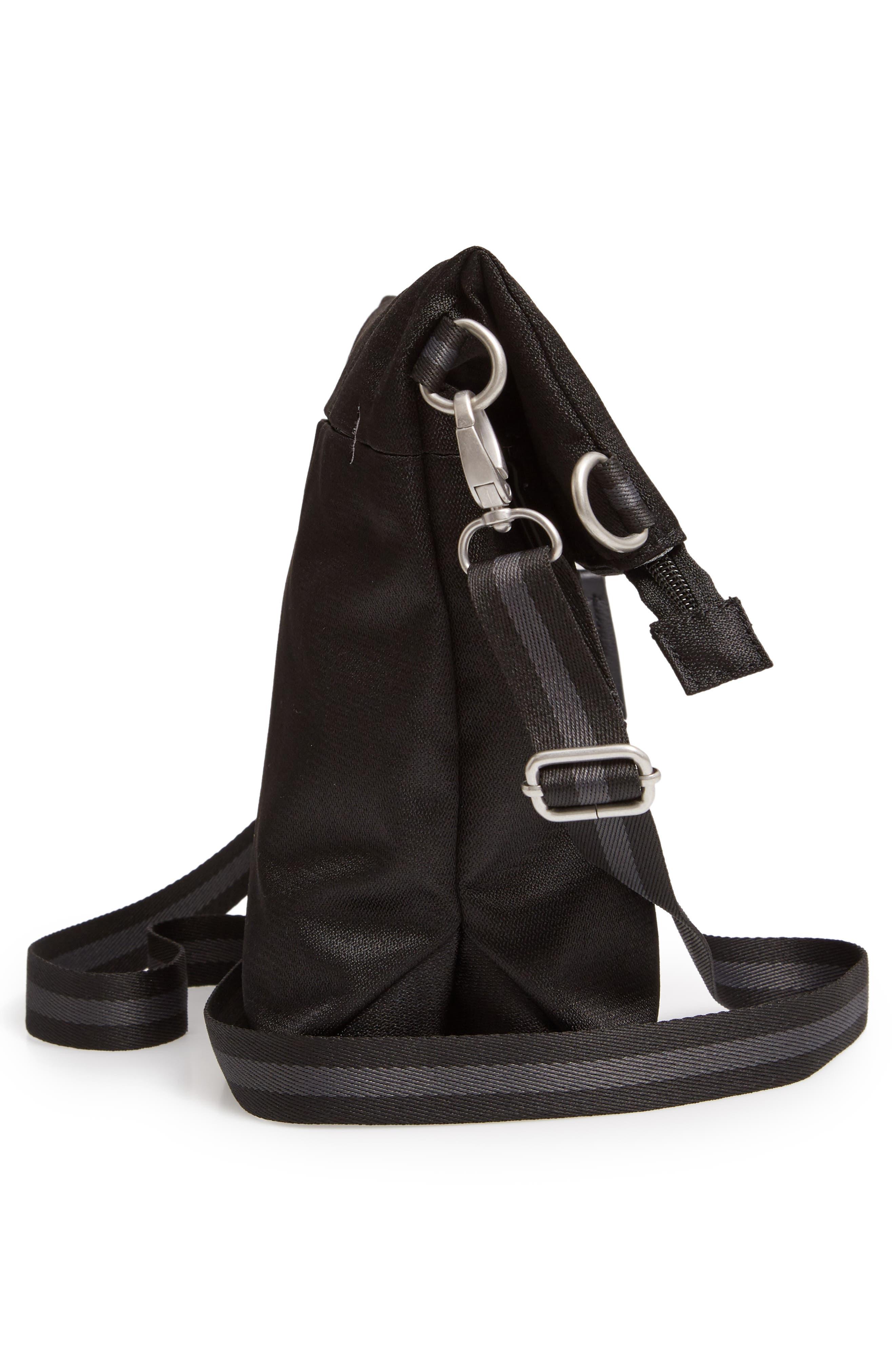 Vale RFID Crossbody Bag,                             Alternate thumbnail 6, color,                             BLACK/ BLACK
