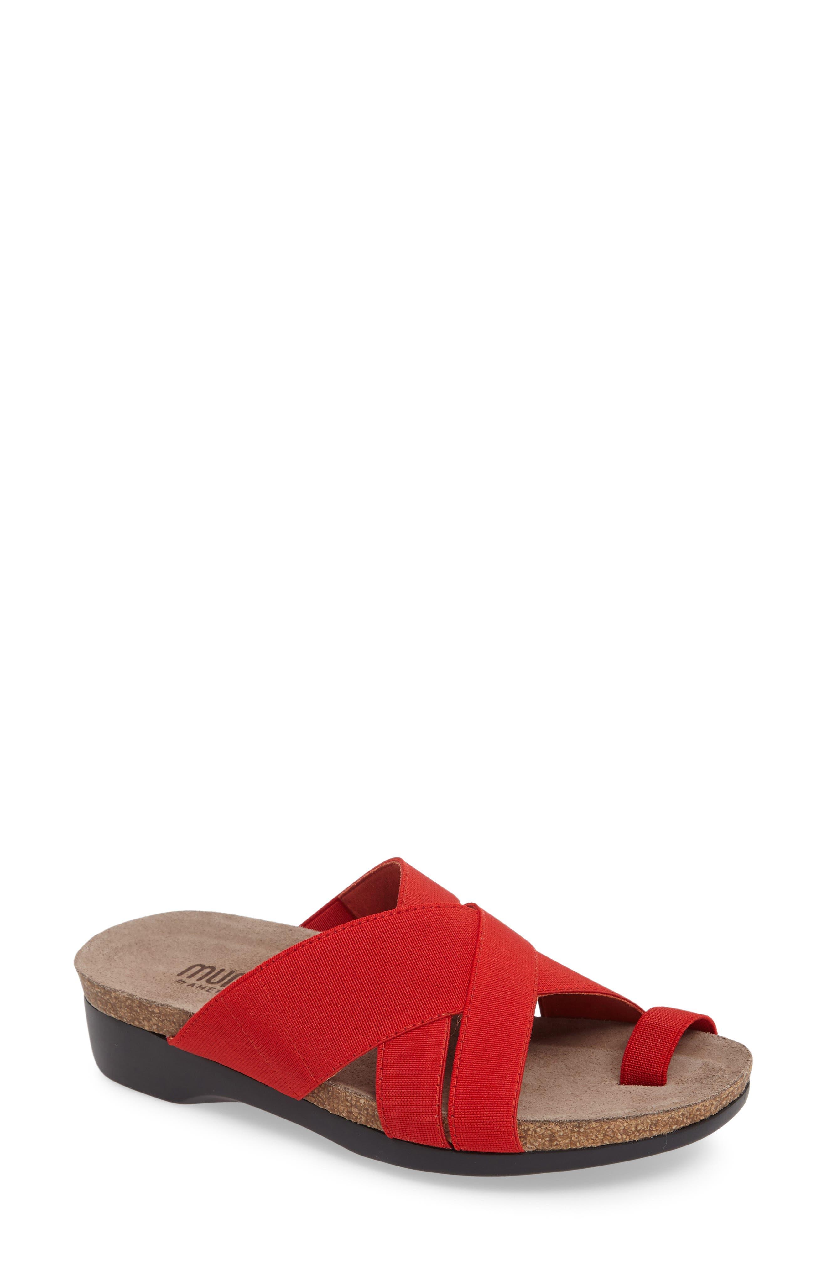 Delphi Slide Sandal,                             Main thumbnail 4, color,