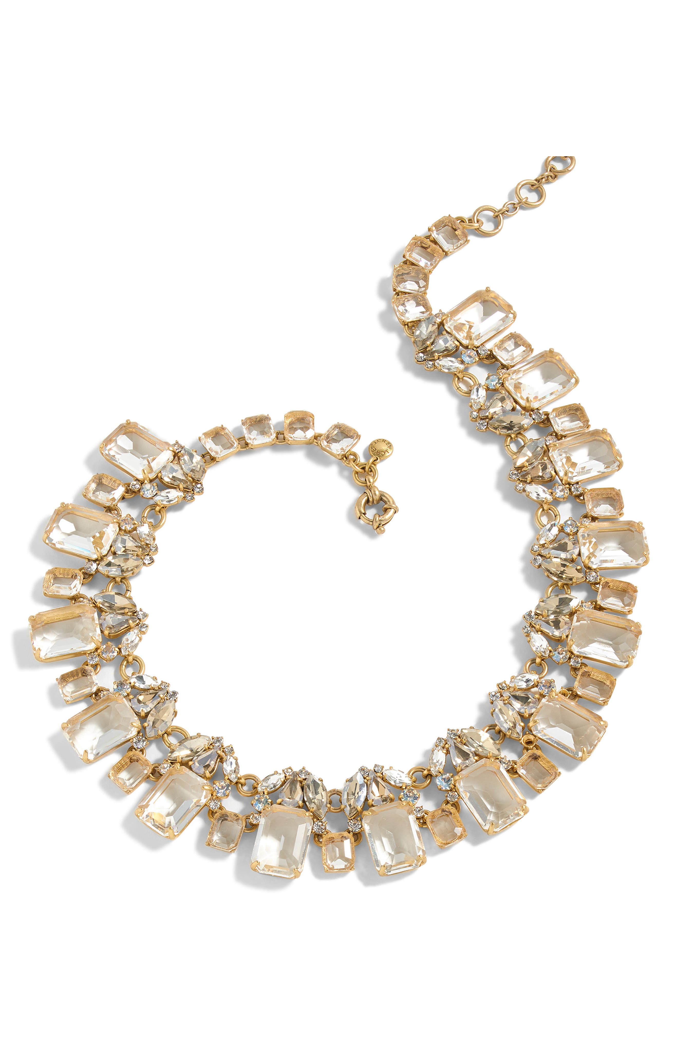 J. Crew Glass Bead Necklace,                         Main,                         color, 040