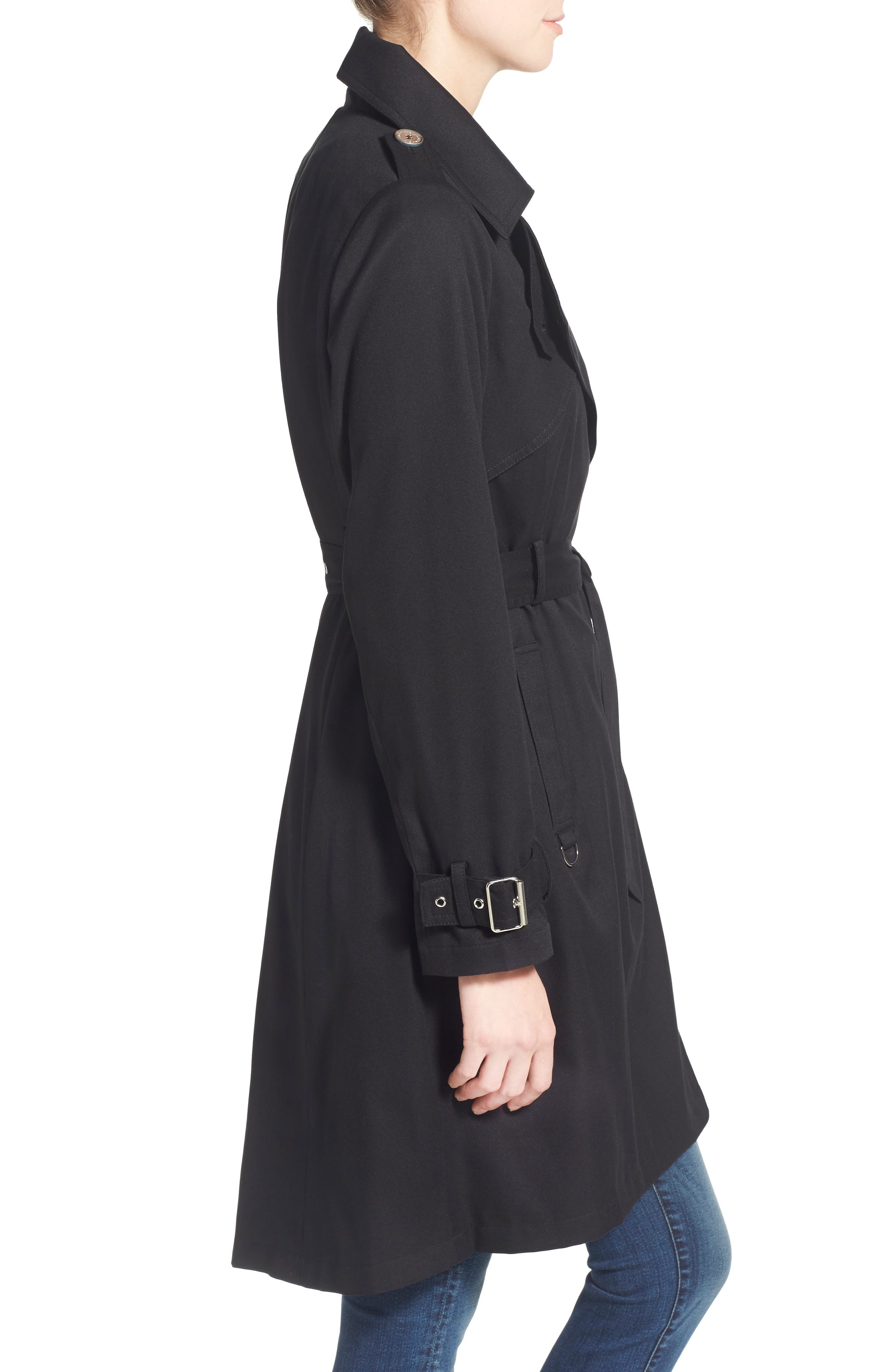 Flowy Belted Trench Coat,                             Alternate thumbnail 12, color,