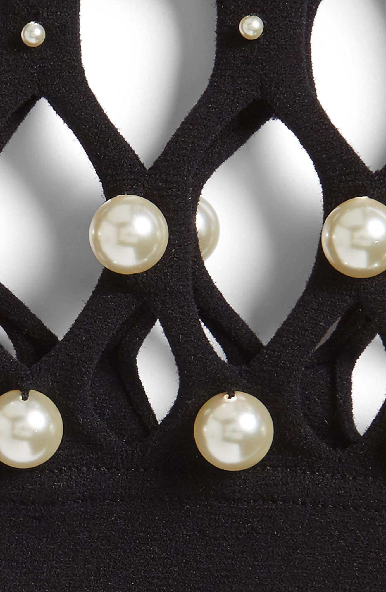 Imitation Pearl Hair Net,                             Alternate thumbnail 2, color,                             001