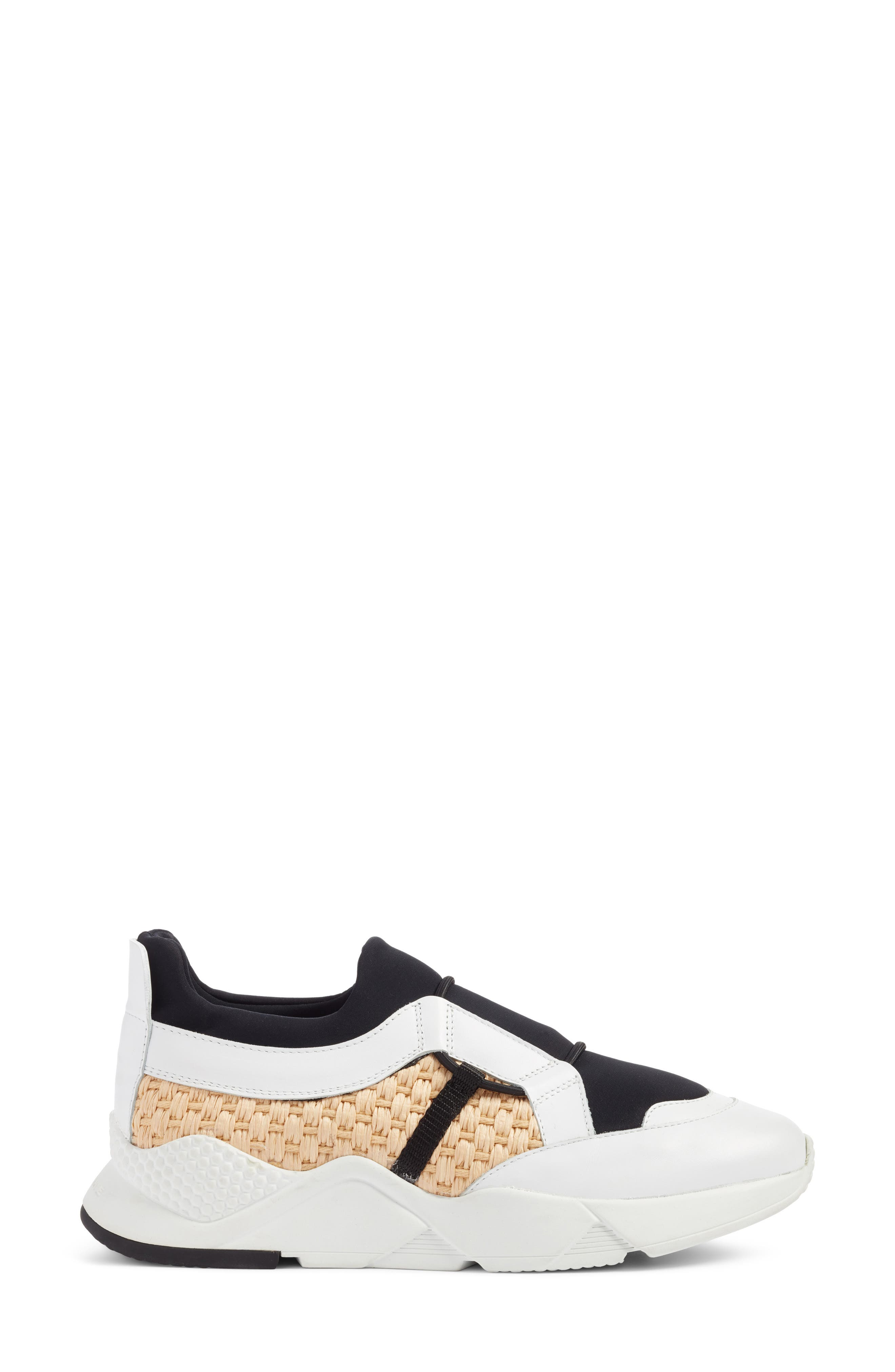 Salvy Woven Sneaker,                             Alternate thumbnail 3, color,                             100
