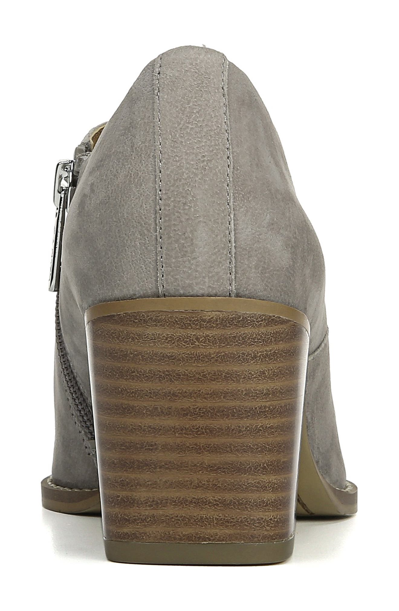 Camella Bootie,                             Alternate thumbnail 7, color,                             GREYSTONE NUBUCK LEATHER