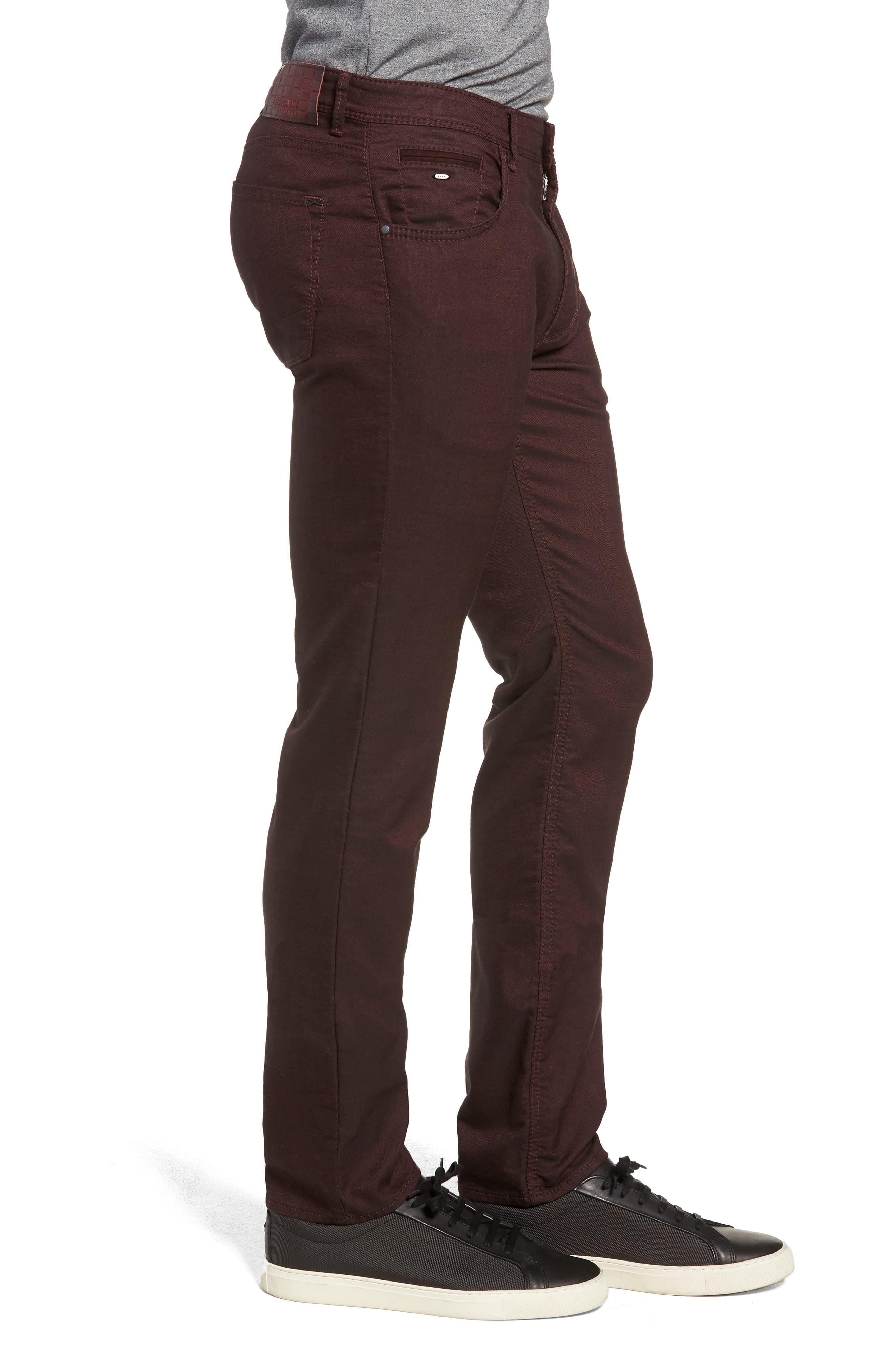 BRAX,                             Slim Fit Five-Pocket Pants,                             Alternate thumbnail 3, color,                             602