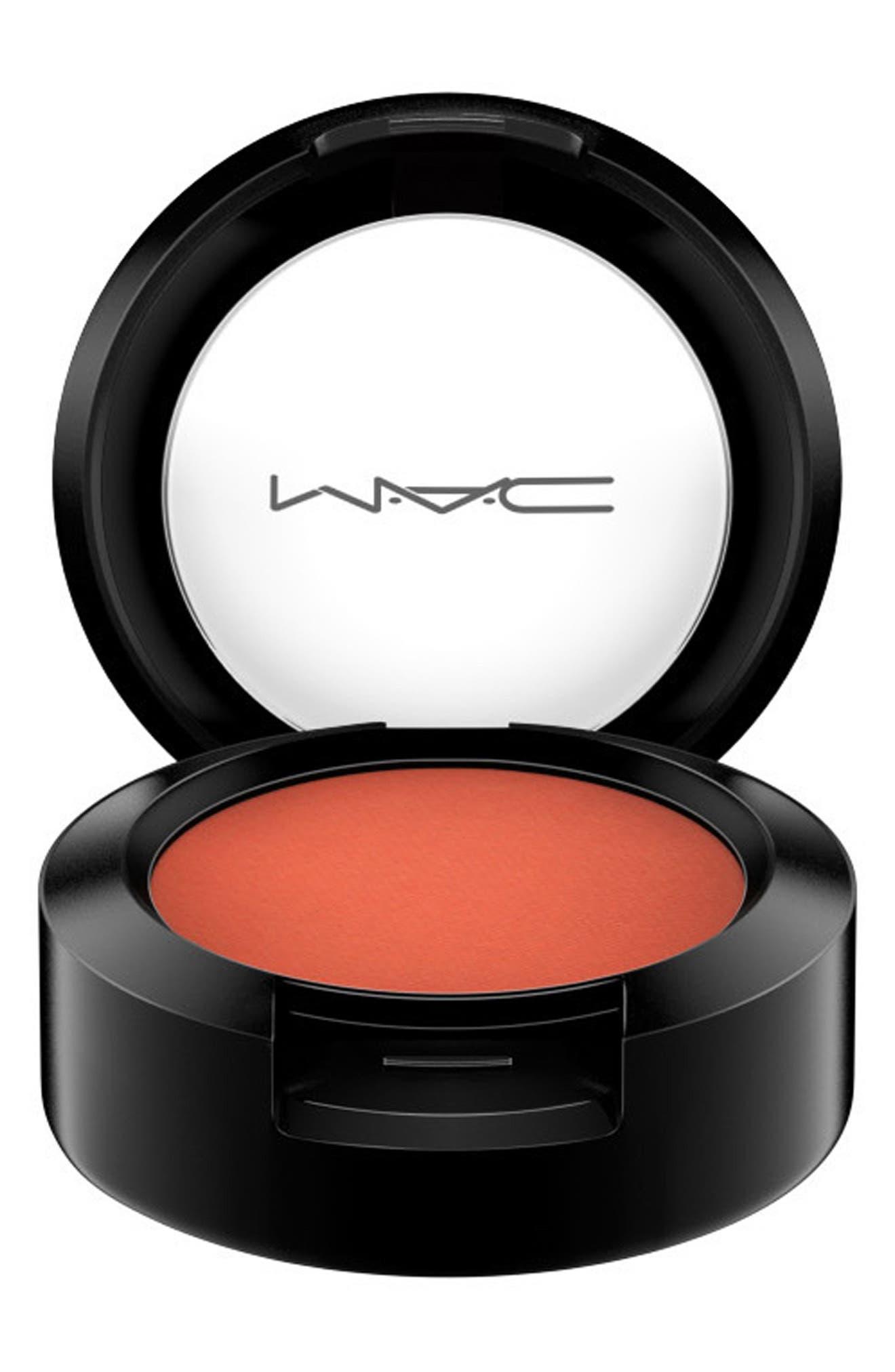 MAC Orange/Yellow Eyeshadow,                             Alternate thumbnail 3, color,                             RED BRICK (M)