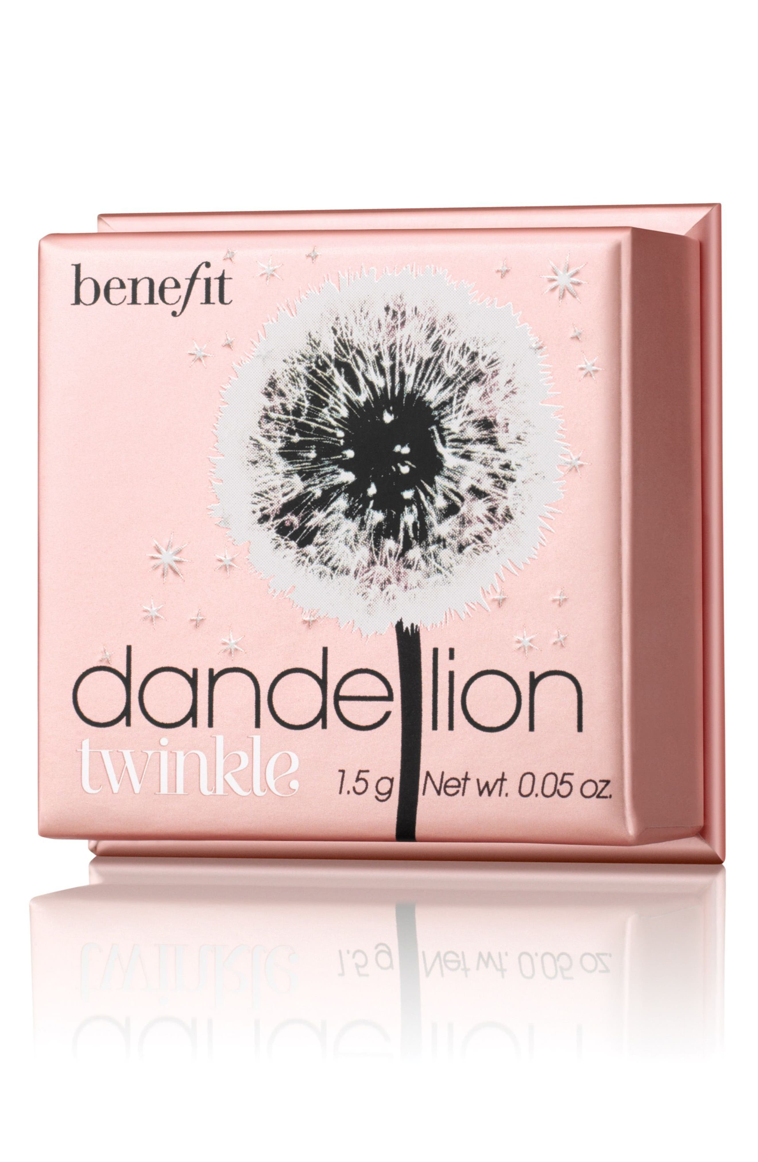 Benefit Dandelion Twinkle Powder Highlighter,                             Alternate thumbnail 4, color,                             NUDE PINK