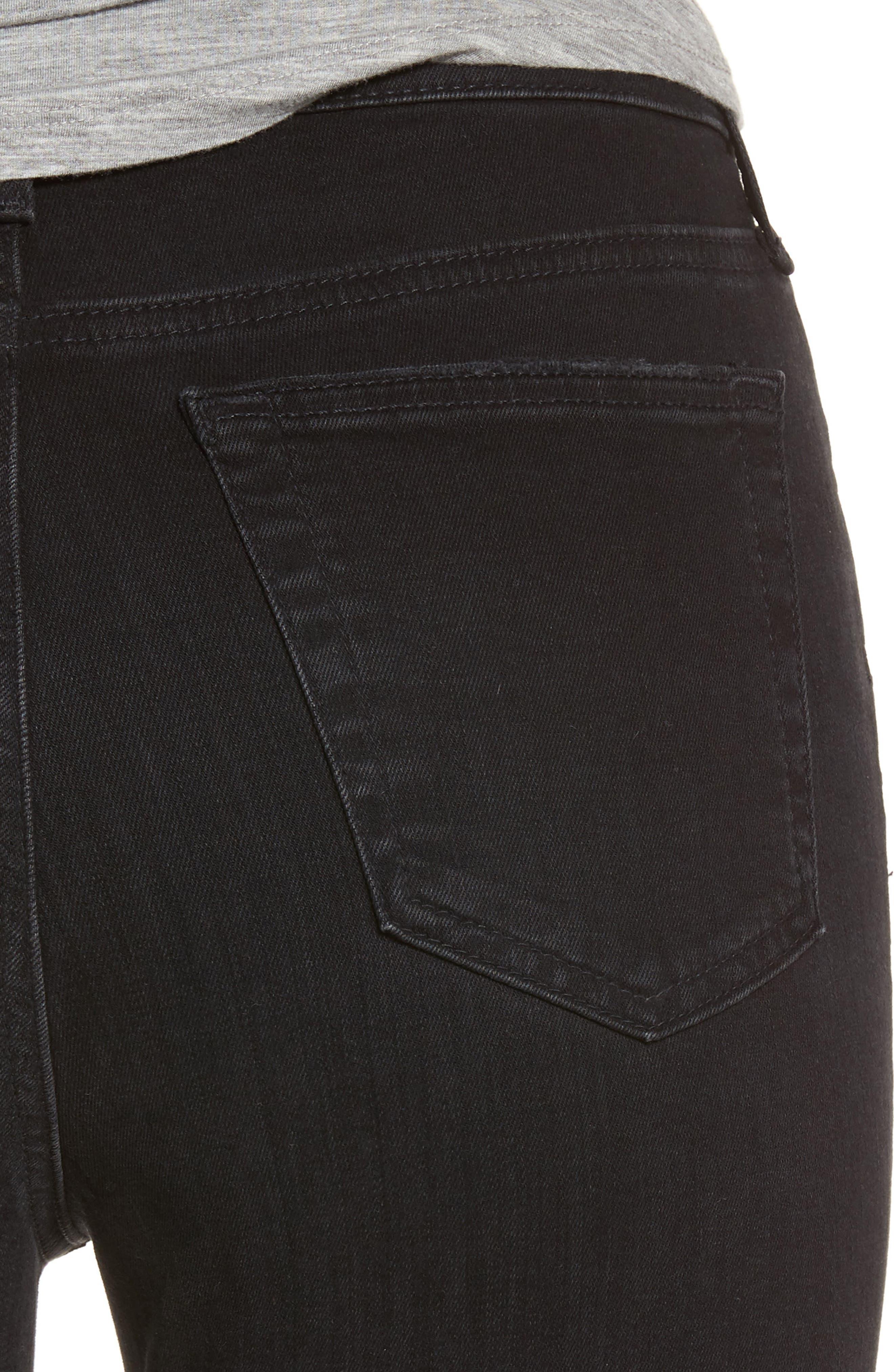 Mila High Rise Skinny Jeans,                             Alternate thumbnail 4, color,                             016