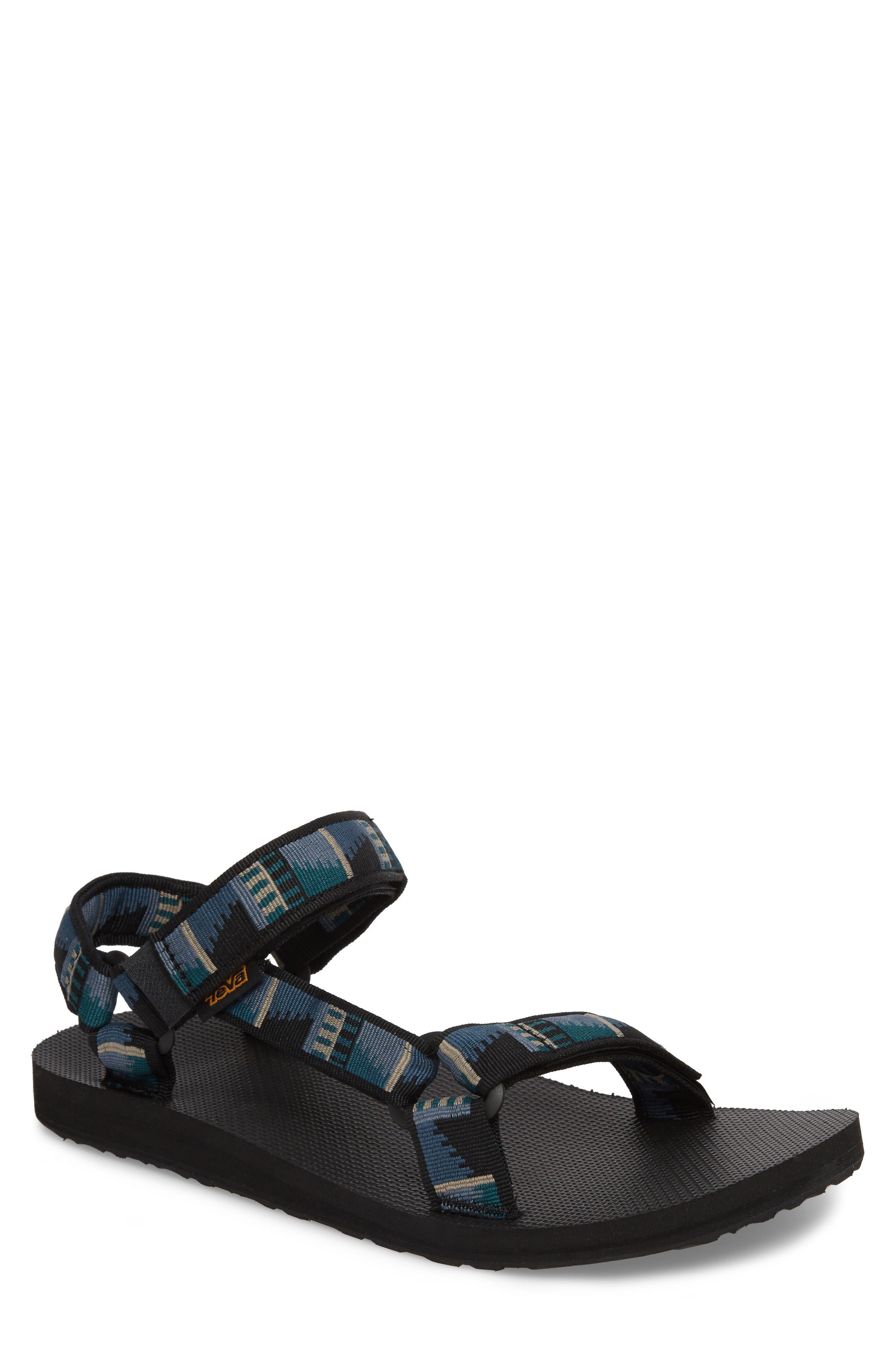 Original Universal Sandal,                             Main thumbnail 1, color,                             BLACK NYLON