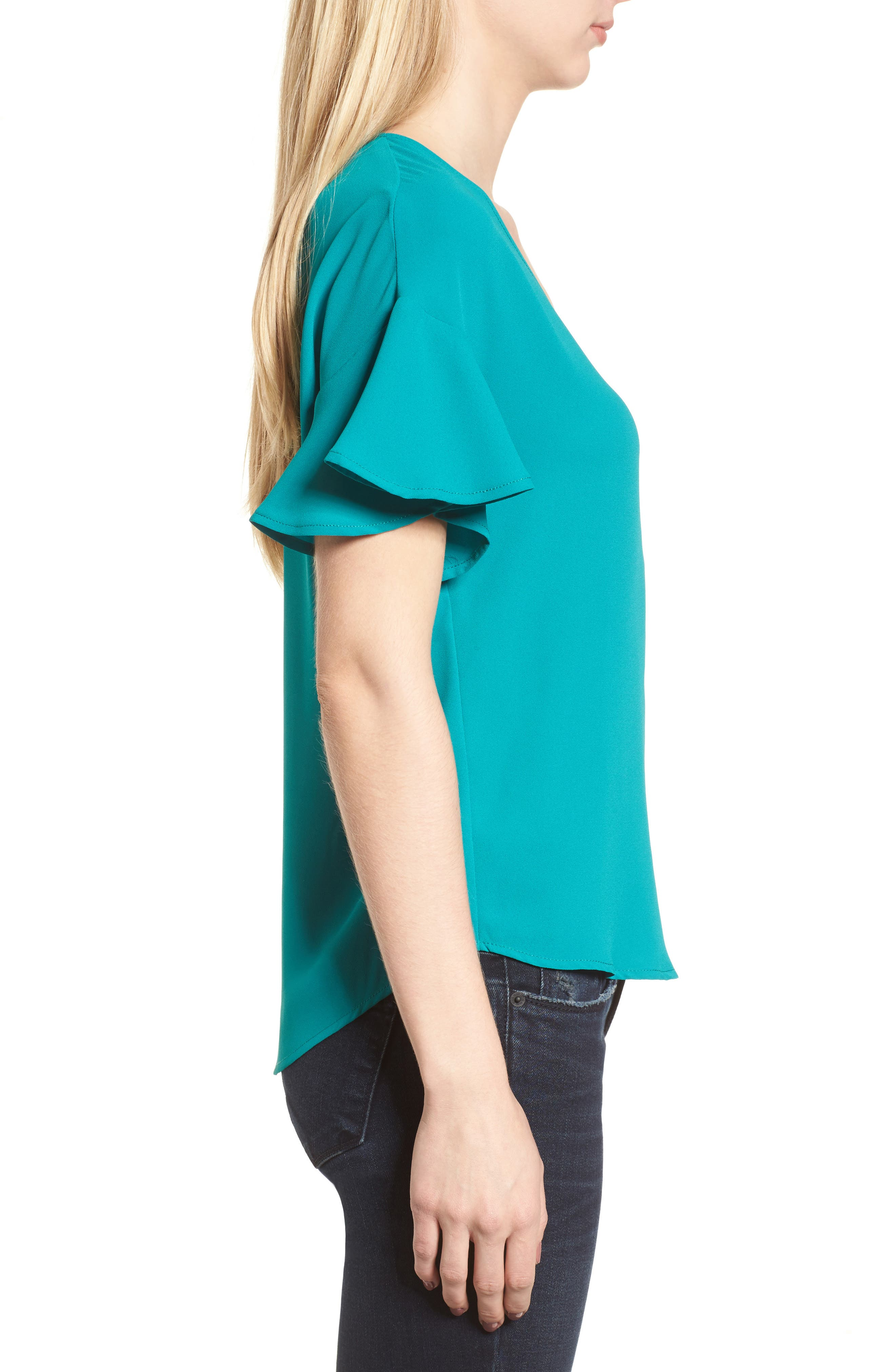 Crepe Tee,                             Alternate thumbnail 20, color,
