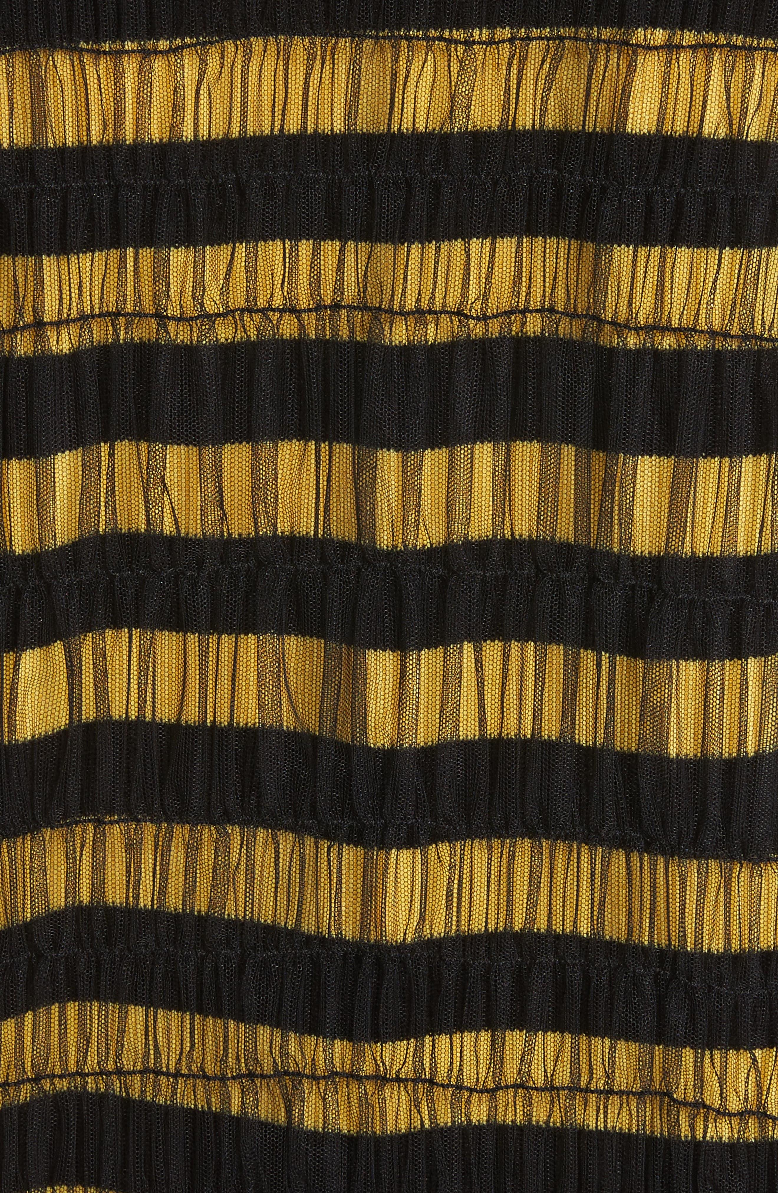 Emily Tulle Dress,                             Alternate thumbnail 5, color,