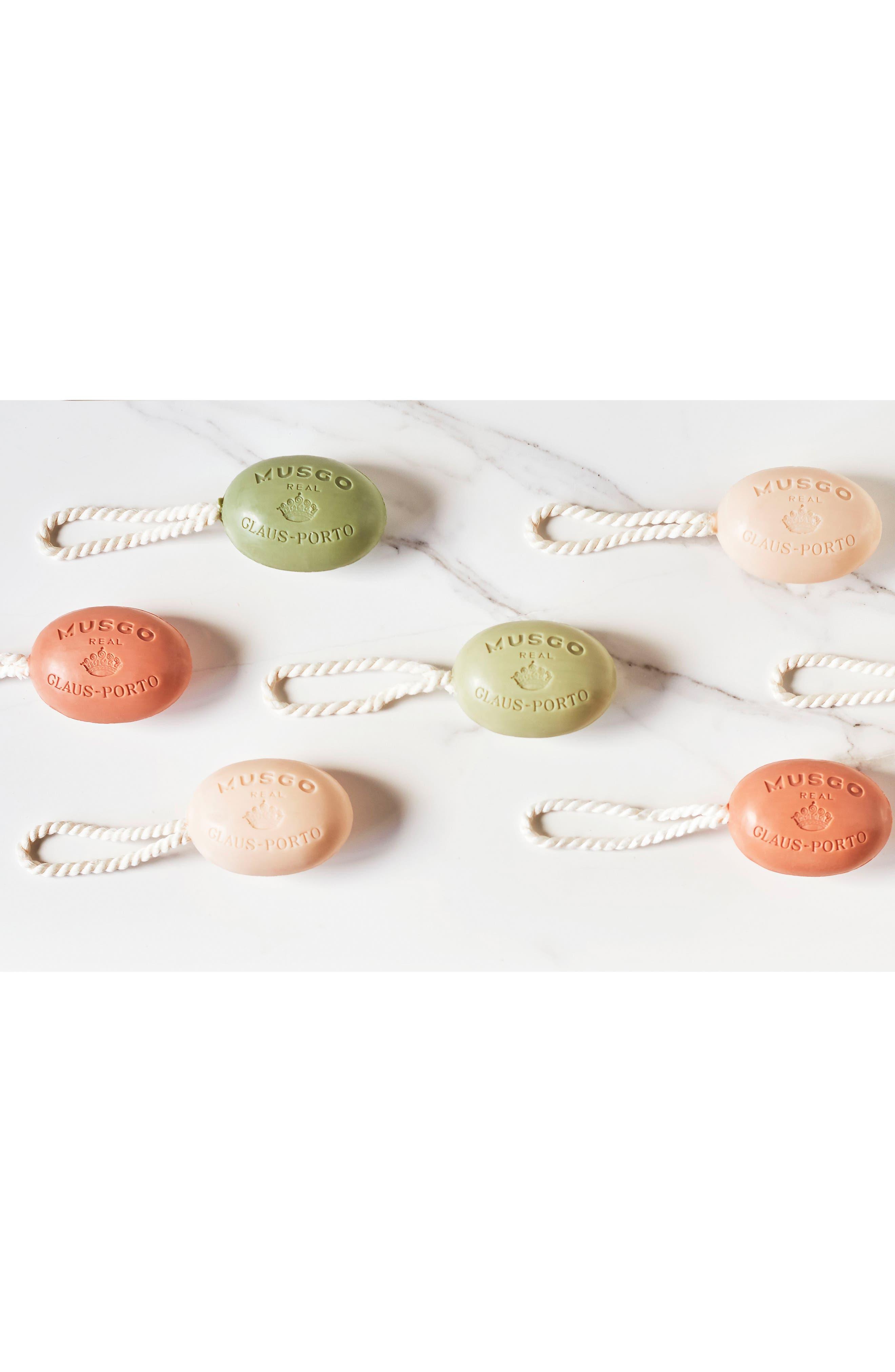 Oak Moss Soap on a Rope,                             Alternate thumbnail 3, color,                             000