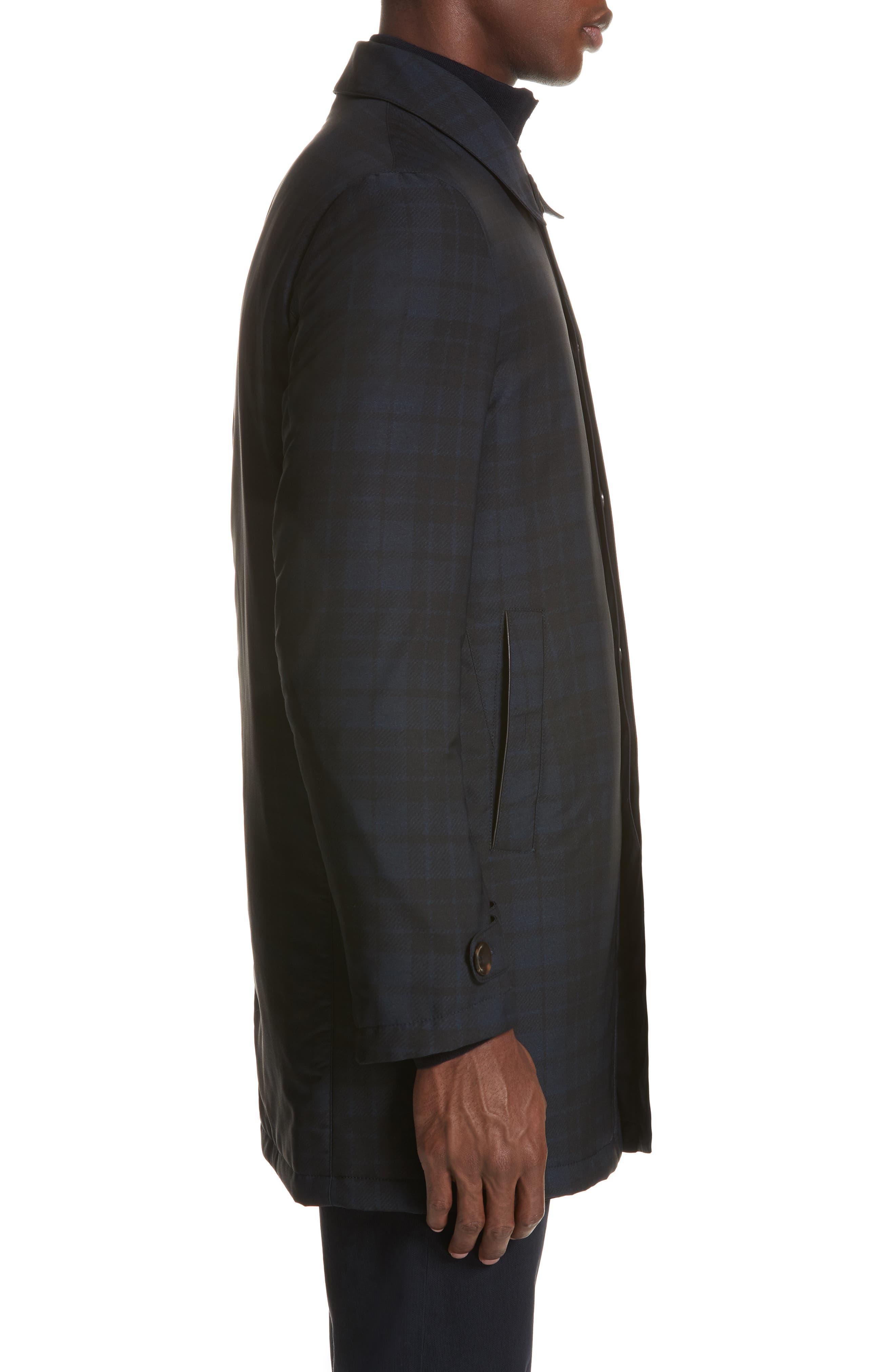 Regular Fit Reversible Raincoat,                             Alternate thumbnail 4, color,