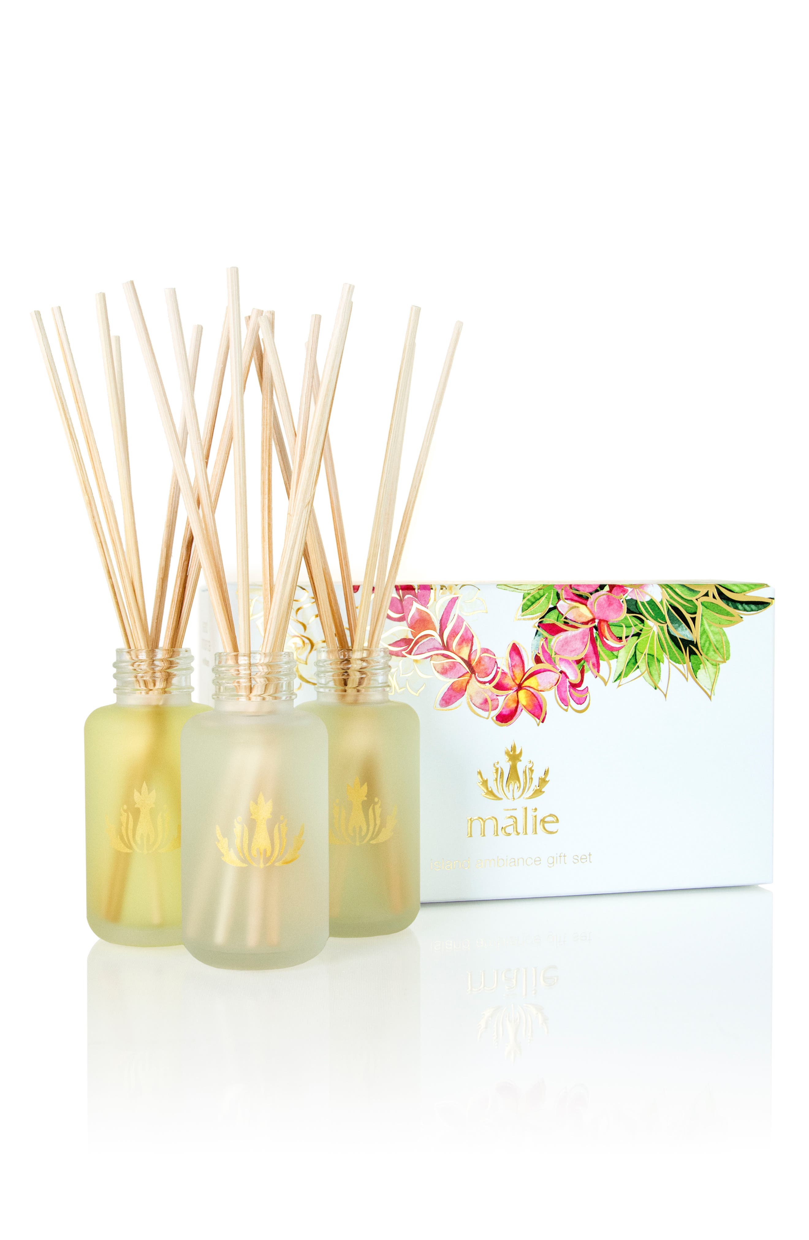 Island Ambience<sup>™</sup> Reed Diffuser Set,                         Main,                         color, 000