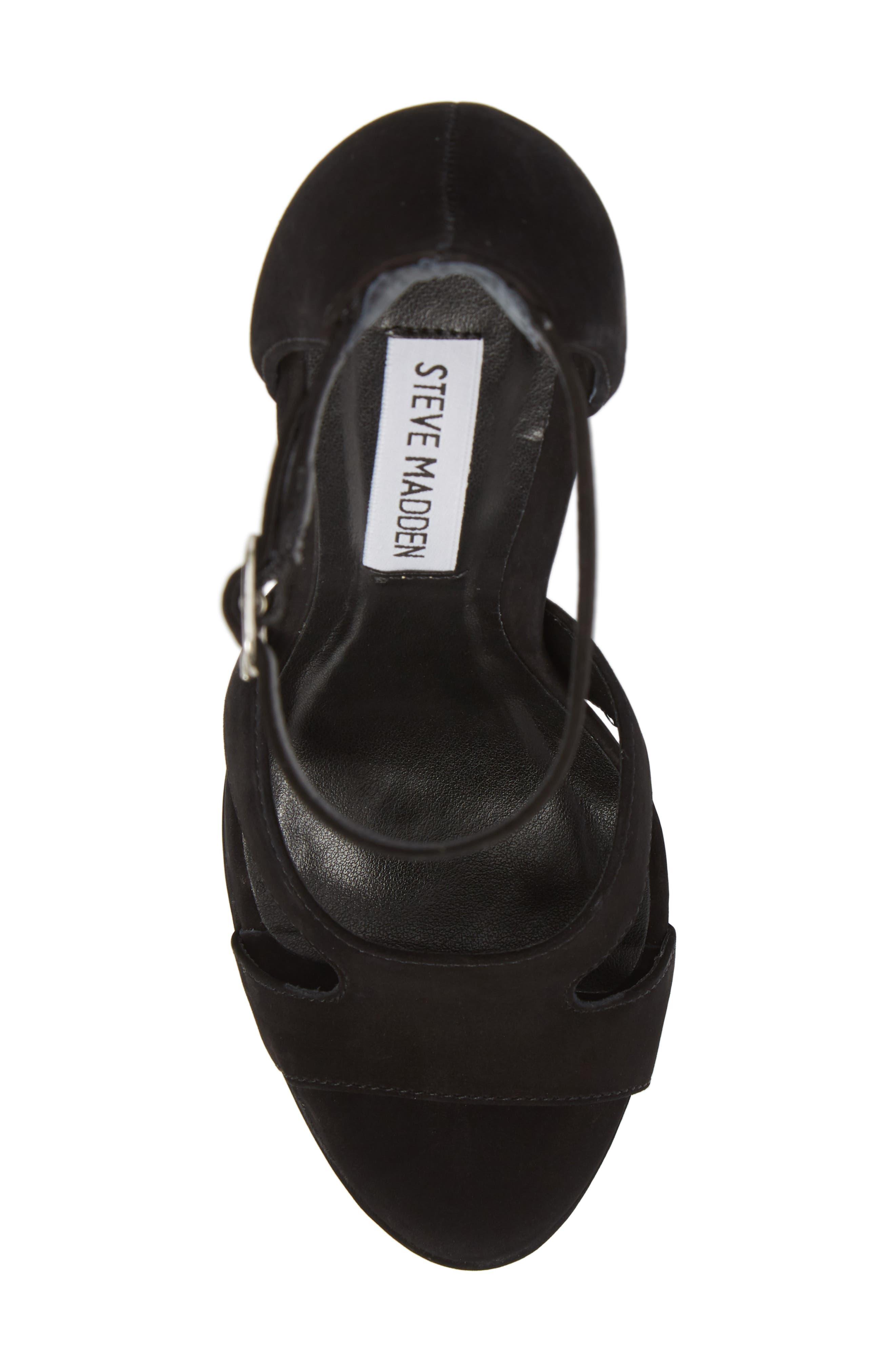 Janelle Platform Sandal,                             Alternate thumbnail 5, color,                             005