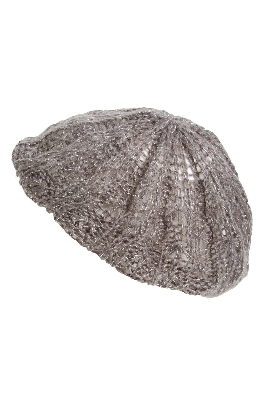 Tucker + Tate 'Lacey' Knit Beanie,                             Main thumbnail 1, color,                             030