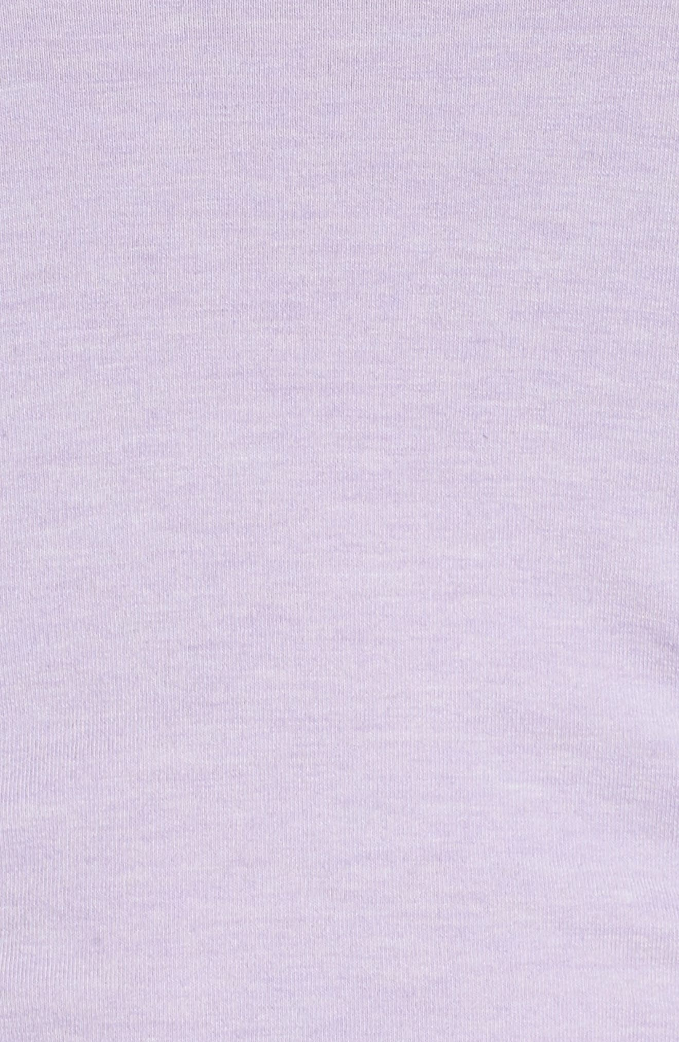 'Z 6' Ruched Tee,                             Alternate thumbnail 72, color,