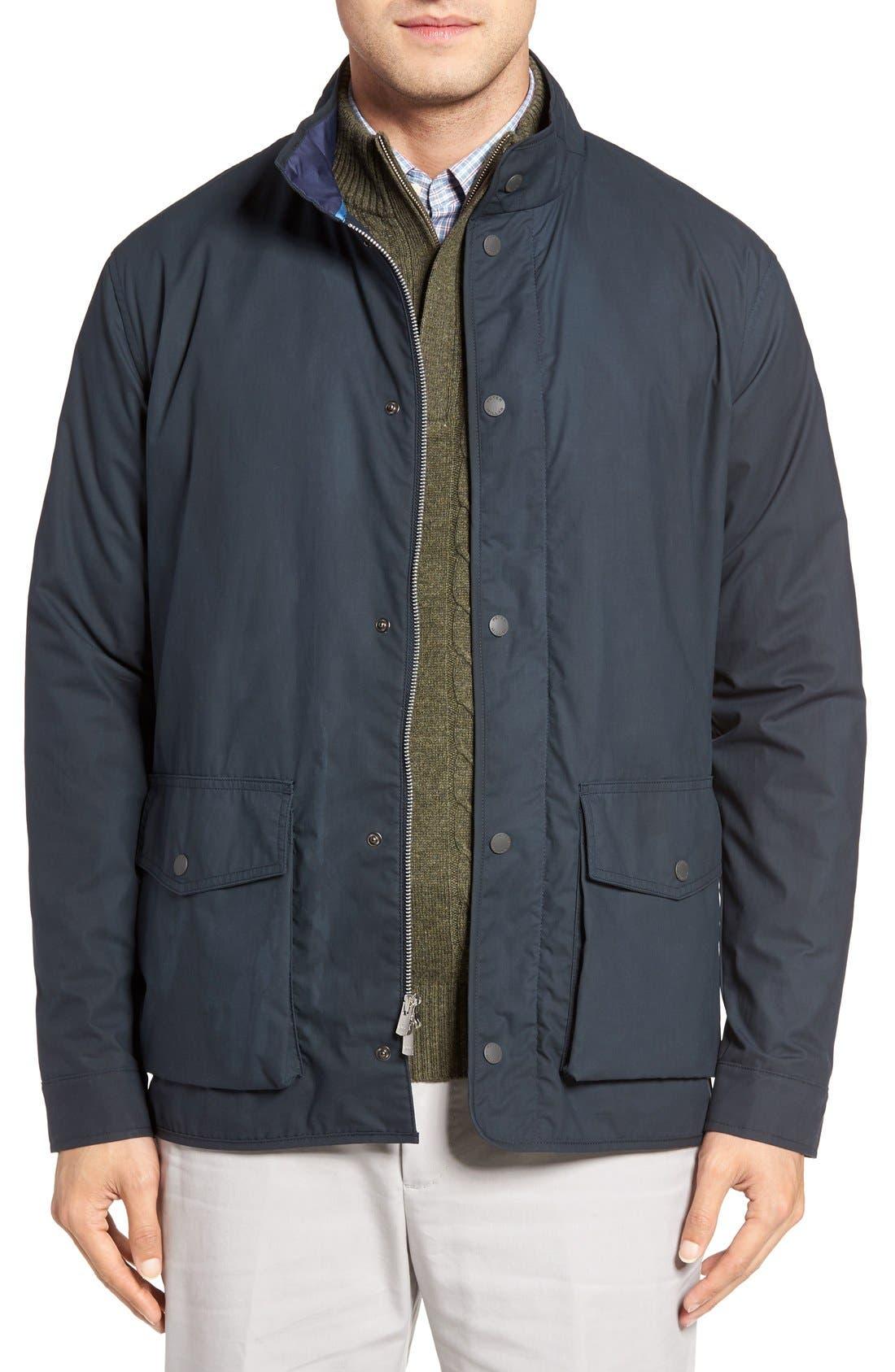 Harrison Water Resistant Field Jacket, Main, color, 413