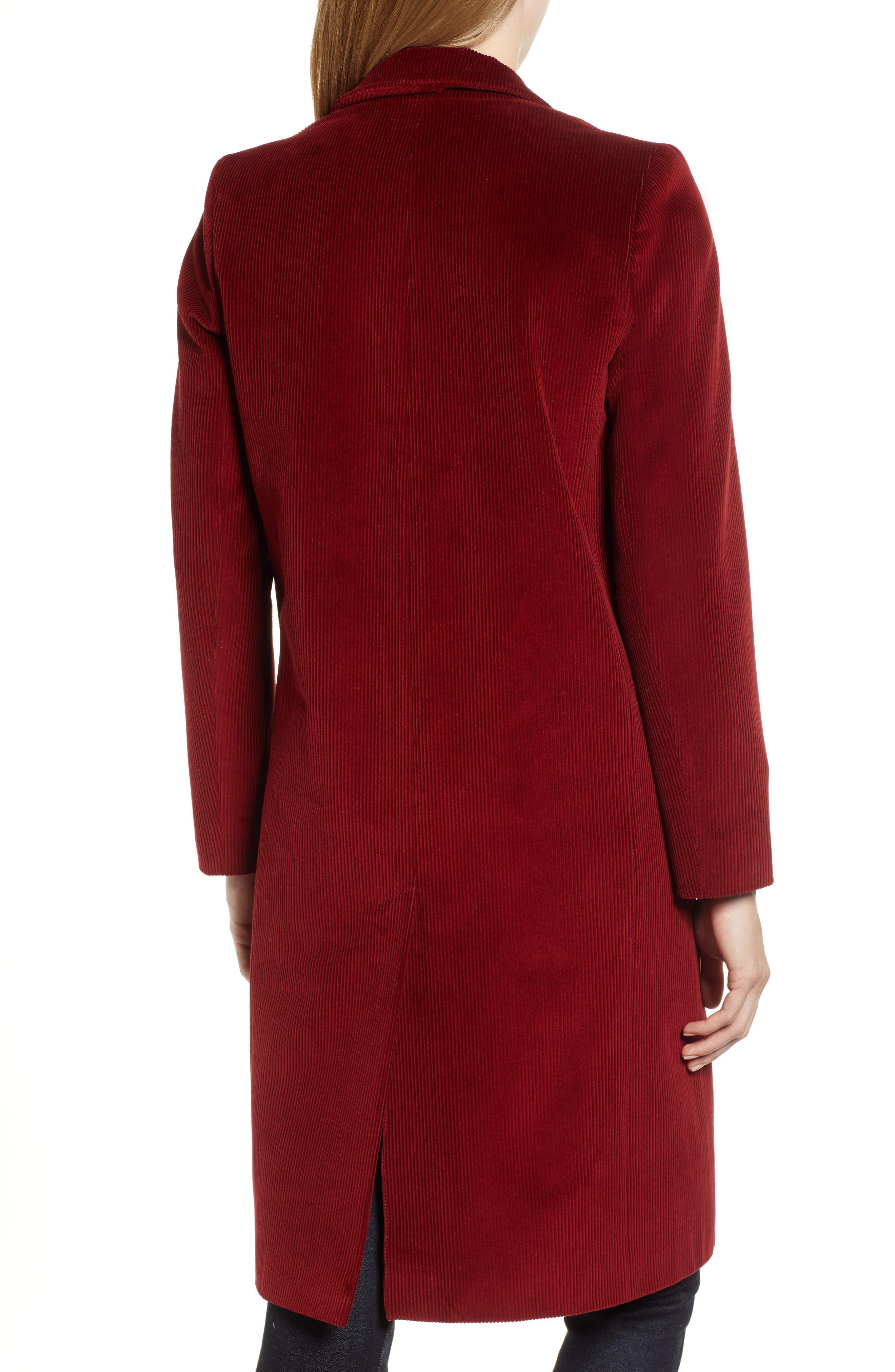 Corduroy College Coat,                             Alternate thumbnail 2, color,                             800