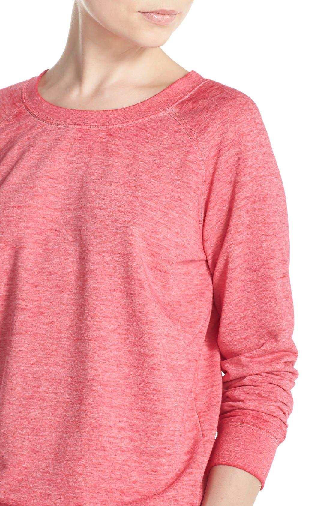 Burnout Lounge Sweatshirt,                             Alternate thumbnail 304, color,