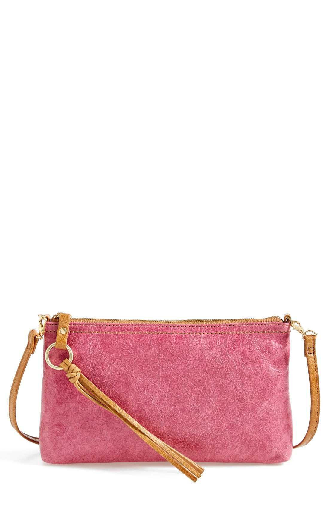 'Darcy' Leather Crossbody Bag,                             Main thumbnail 28, color,