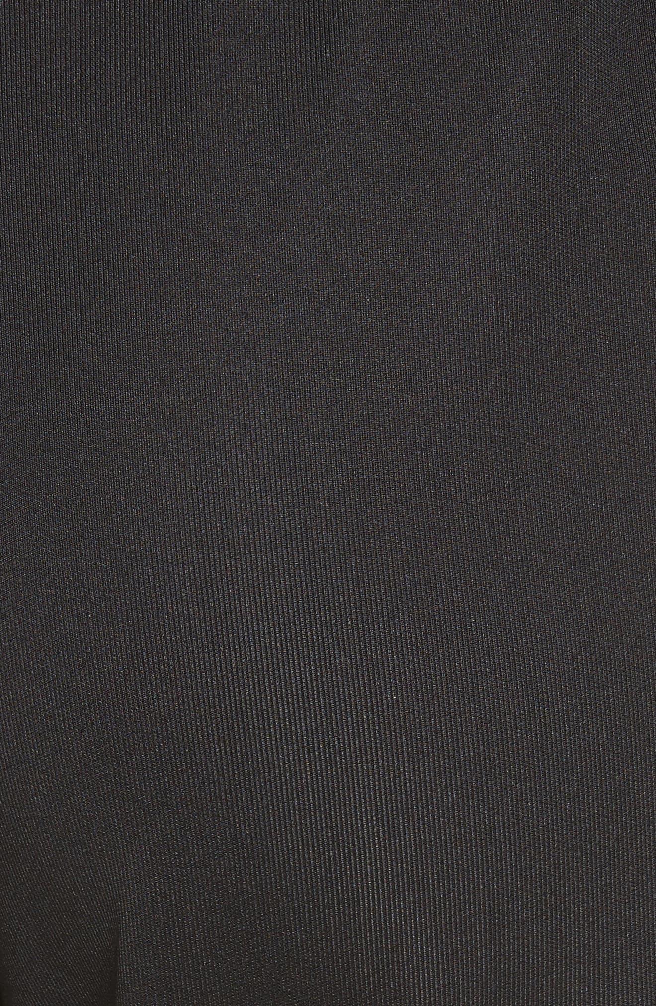 être cécile Stripe Crop Track Pants,                             Alternate thumbnail 5, color,                             001