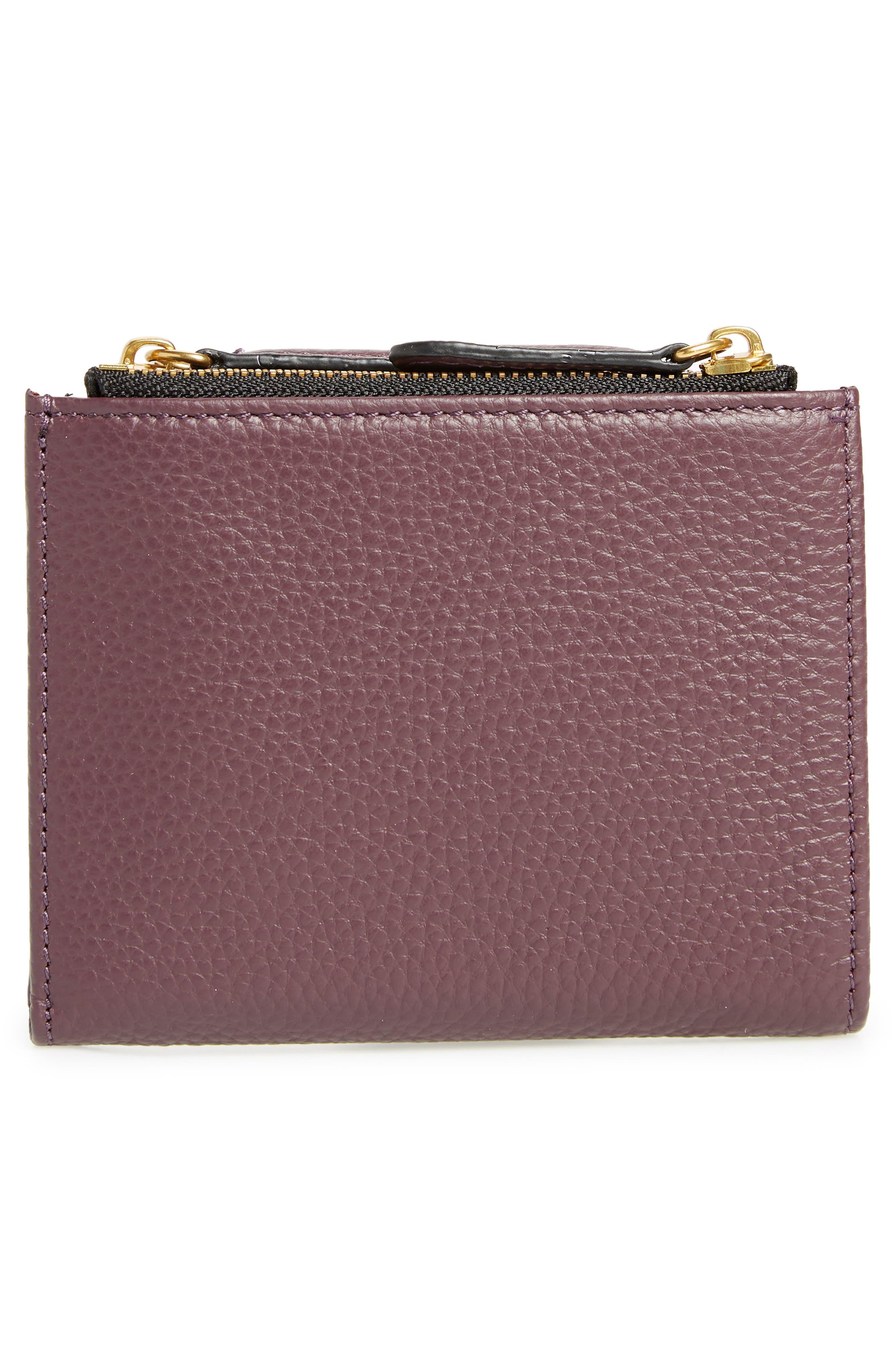E Leather Wallet,                             Alternate thumbnail 16, color,