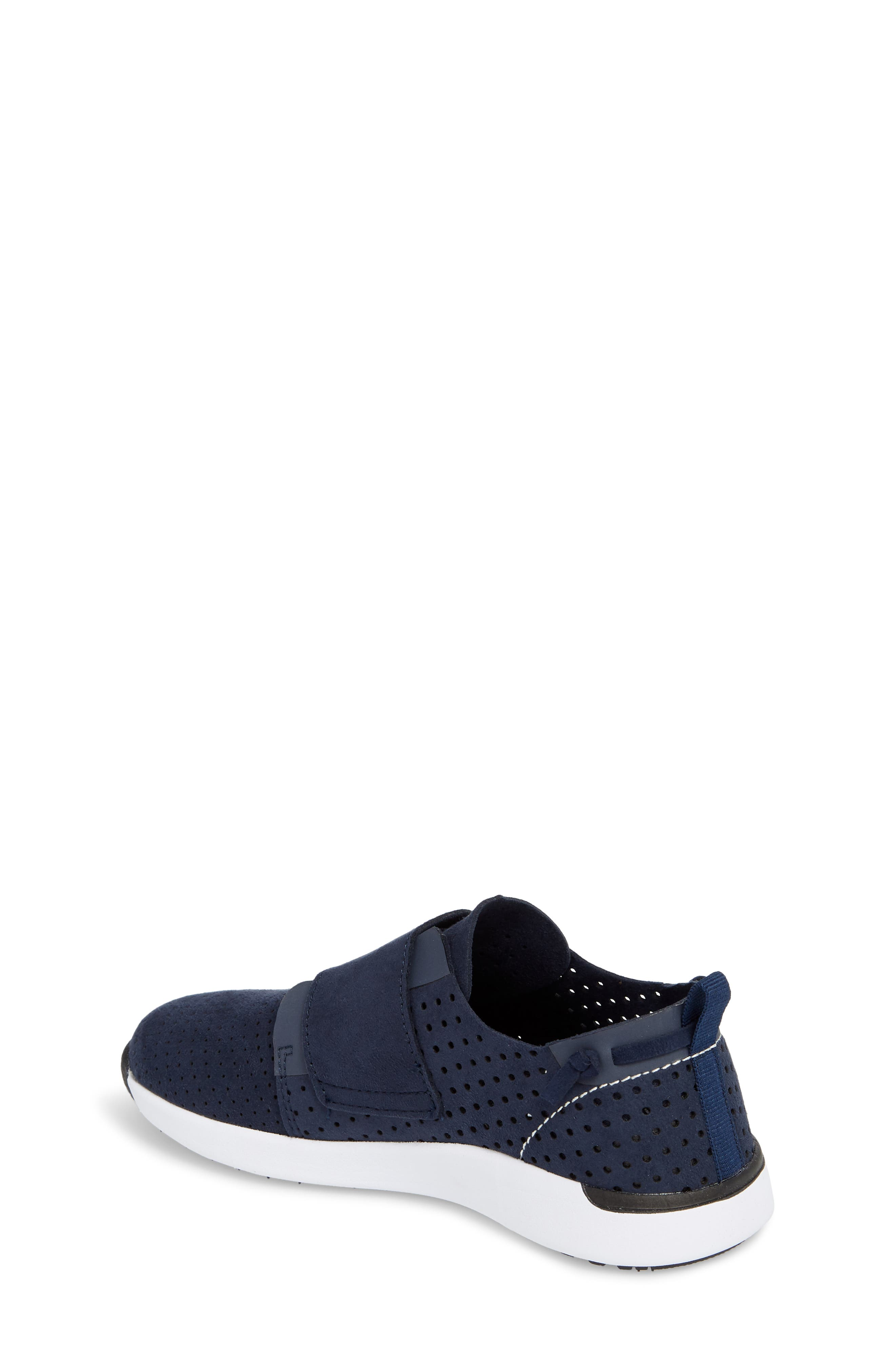 Brixxnv Perforated Sneaker,                             Alternate thumbnail 2, color,                             NAVY