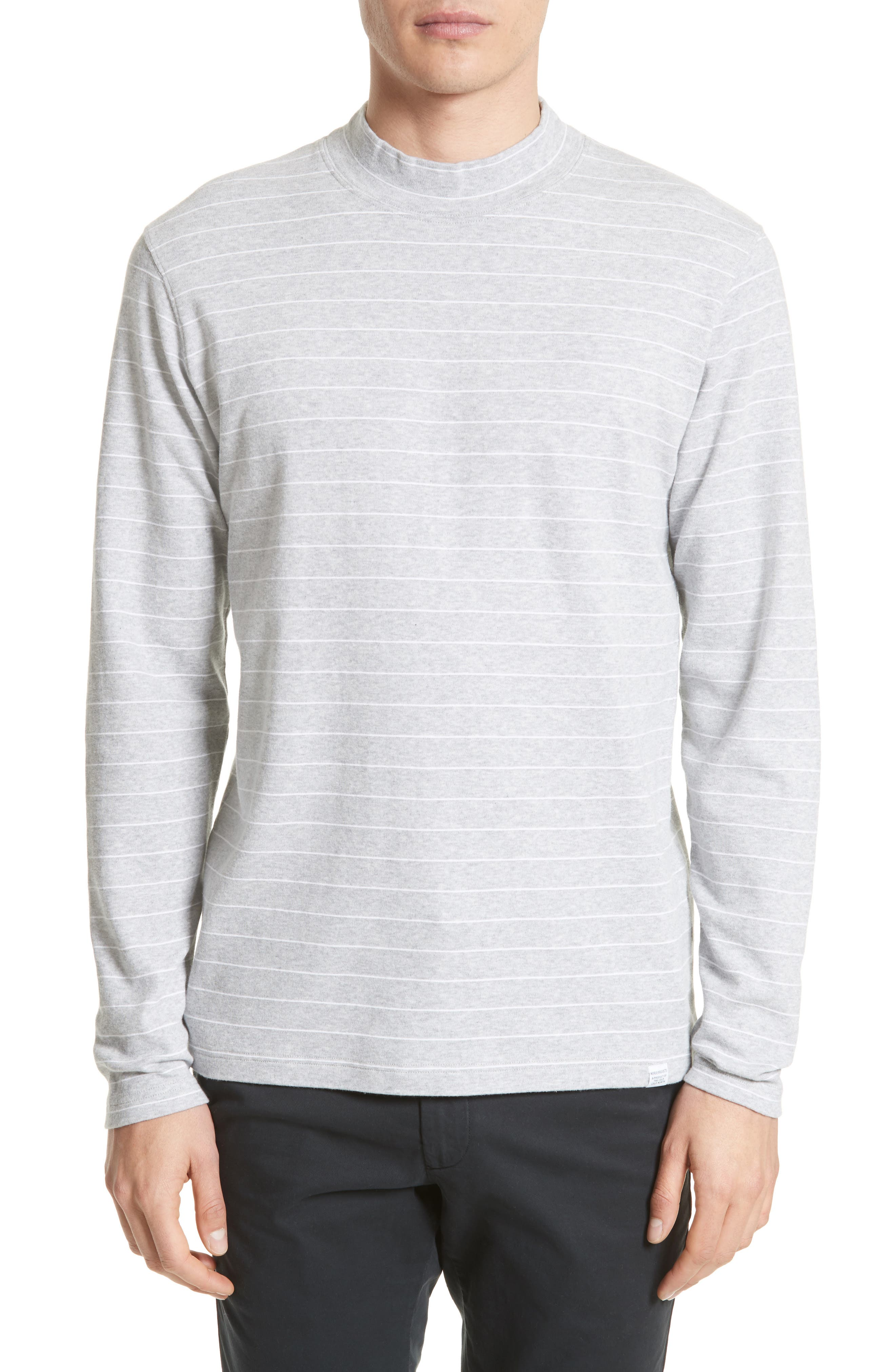 NORSE PROJECTS,                             Harald Mock Neck T-Shirt,                             Main thumbnail 1, color,                             050