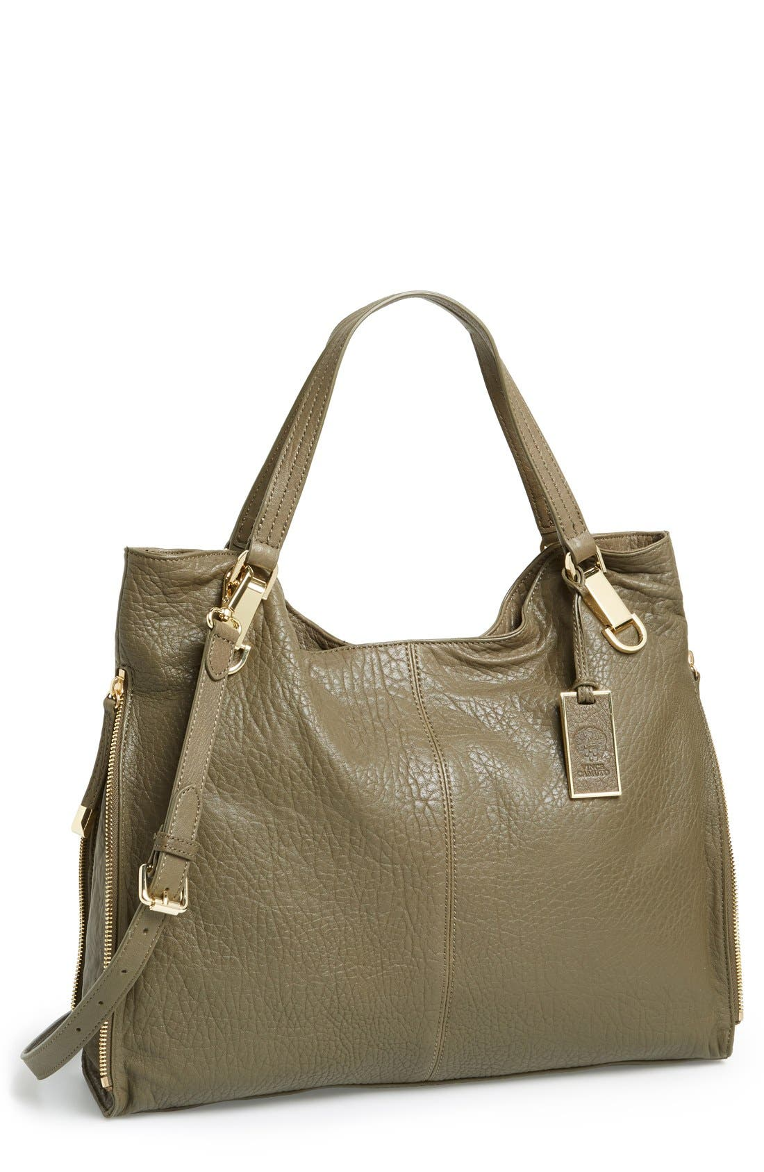 'Riley' Leather Tote,                             Main thumbnail 18, color,