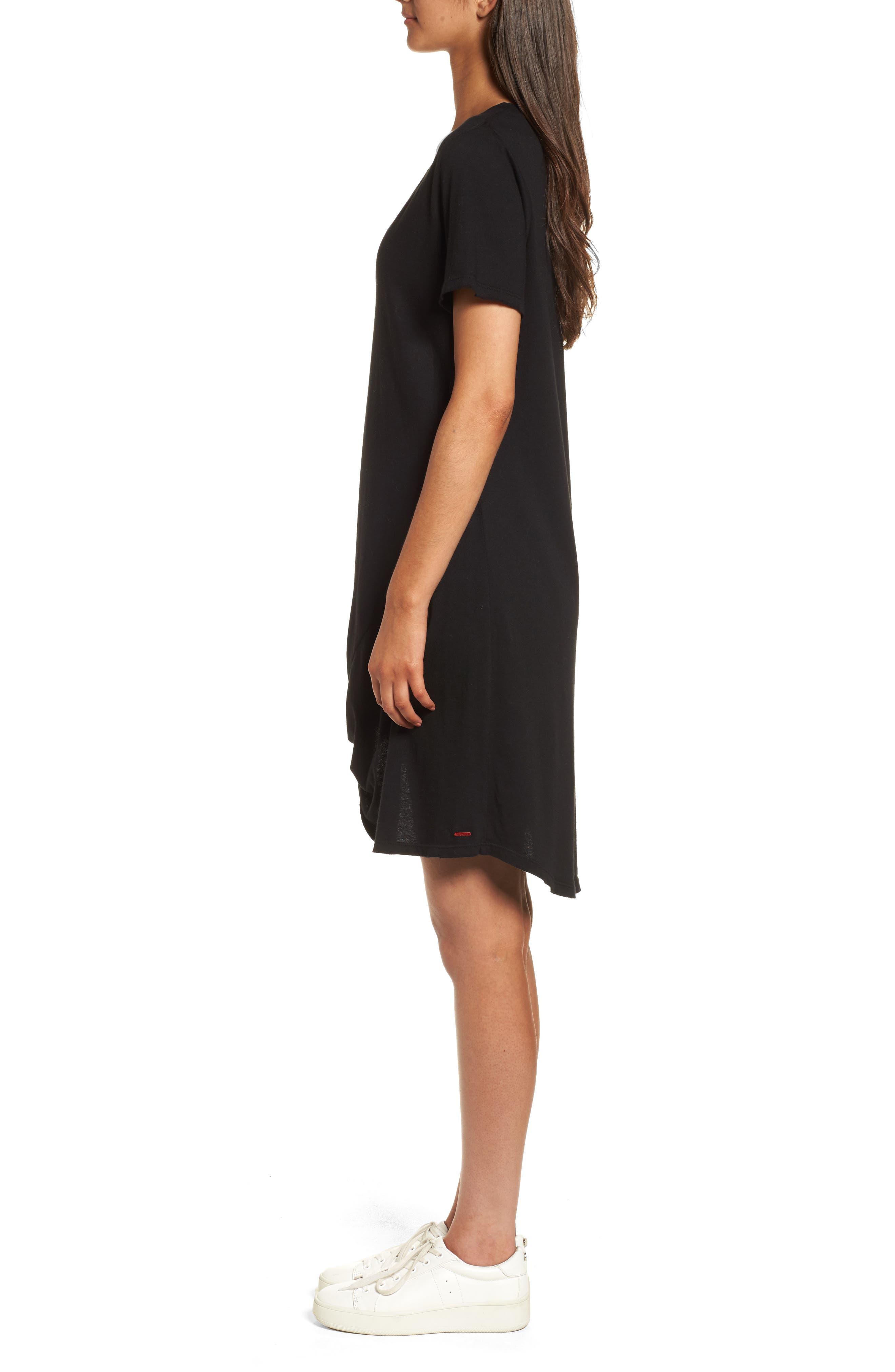 n: PHILANTHROPY Morrison T-Shirt Dress,                             Alternate thumbnail 3, color,                             001