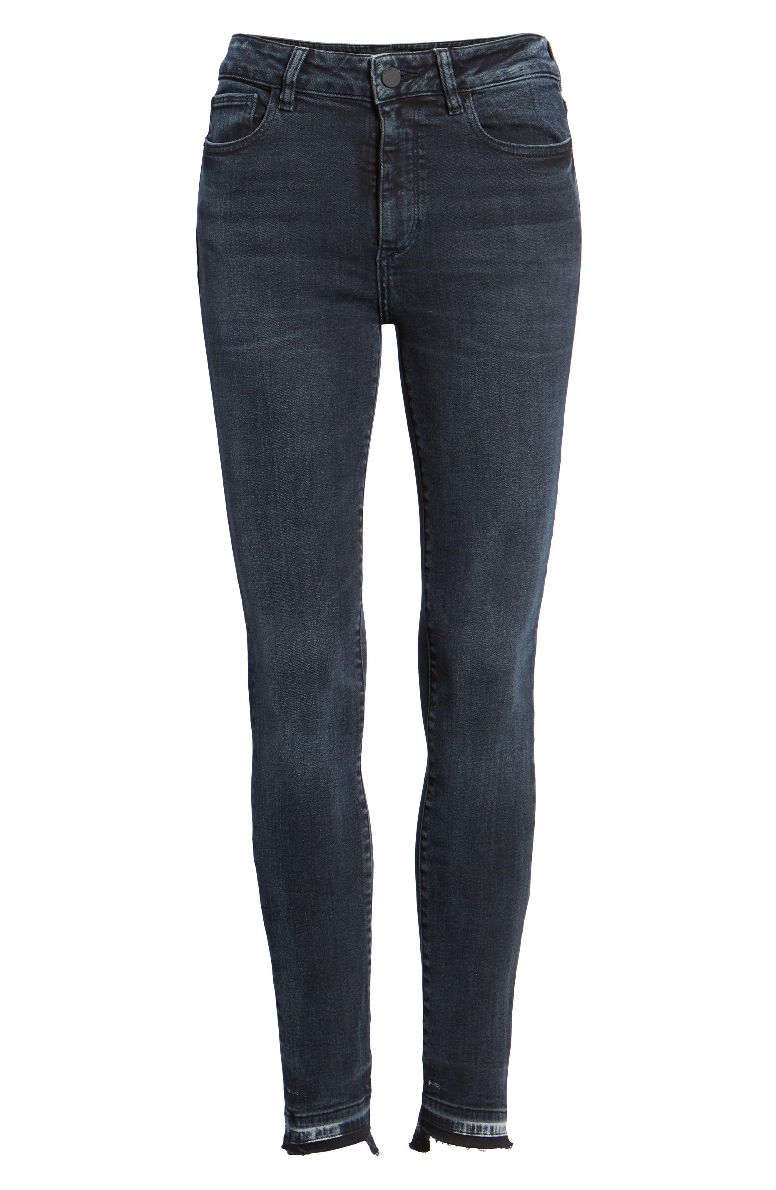Farrow High Waist Skinny Jeans,                             Alternate thumbnail 6, color,                             425