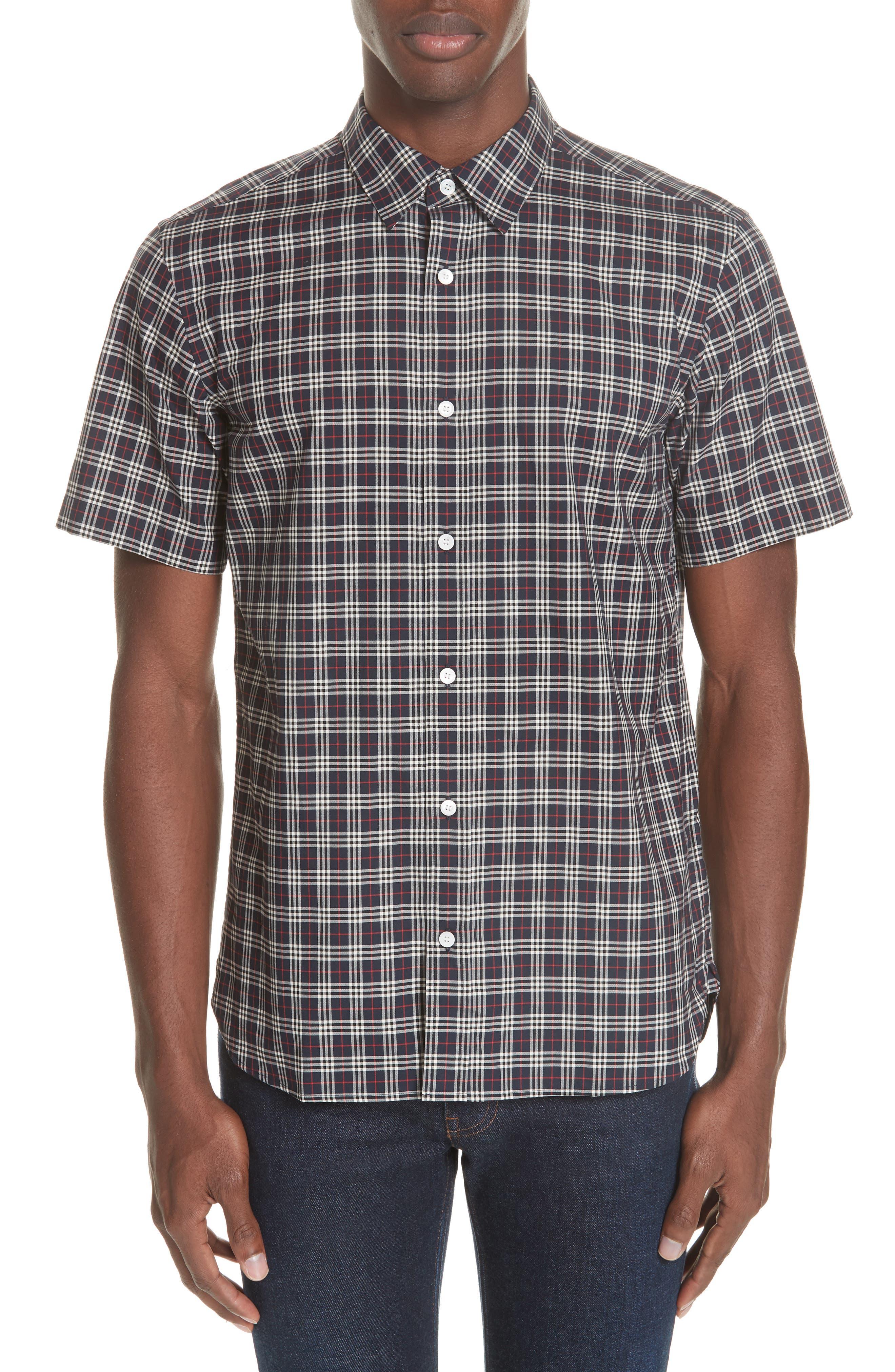 Edward Short Sleeve Shirt,                             Main thumbnail 1, color,                             400
