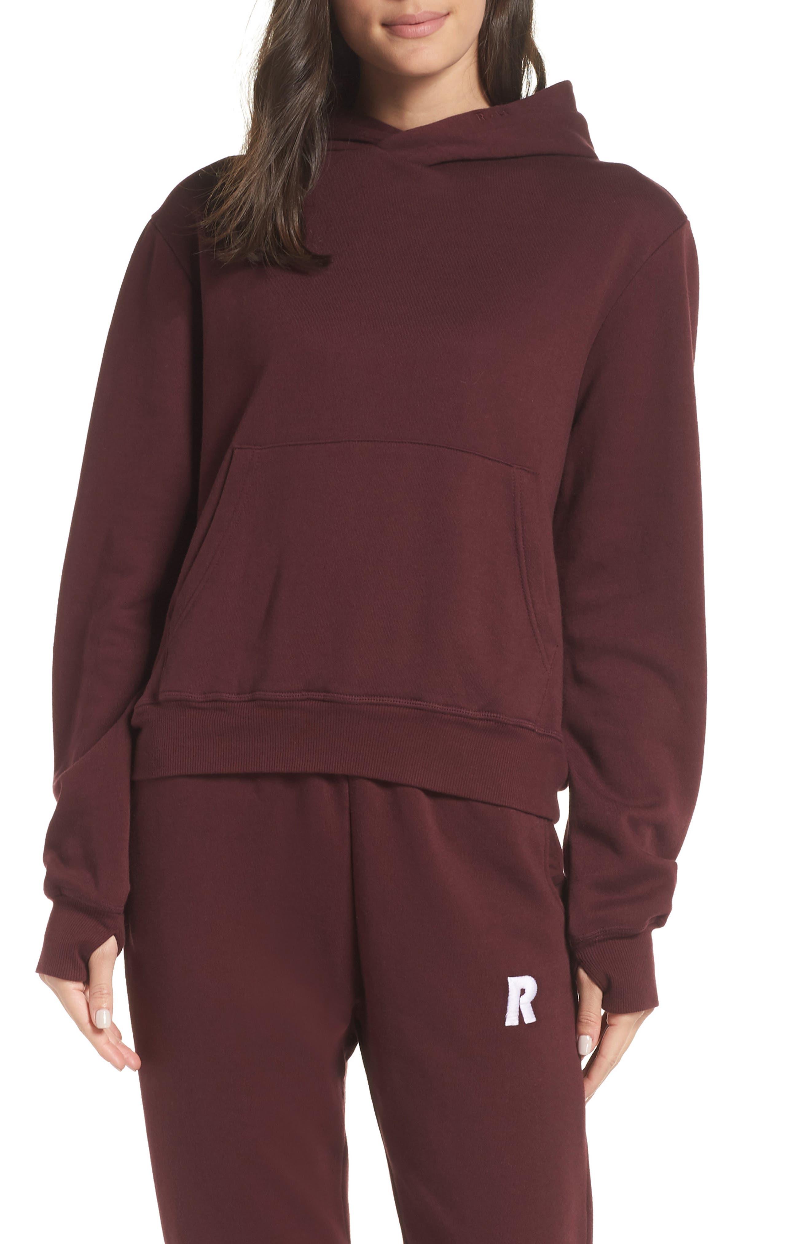RAGDOLL Hoodie Sweatshirt in Bordeaux