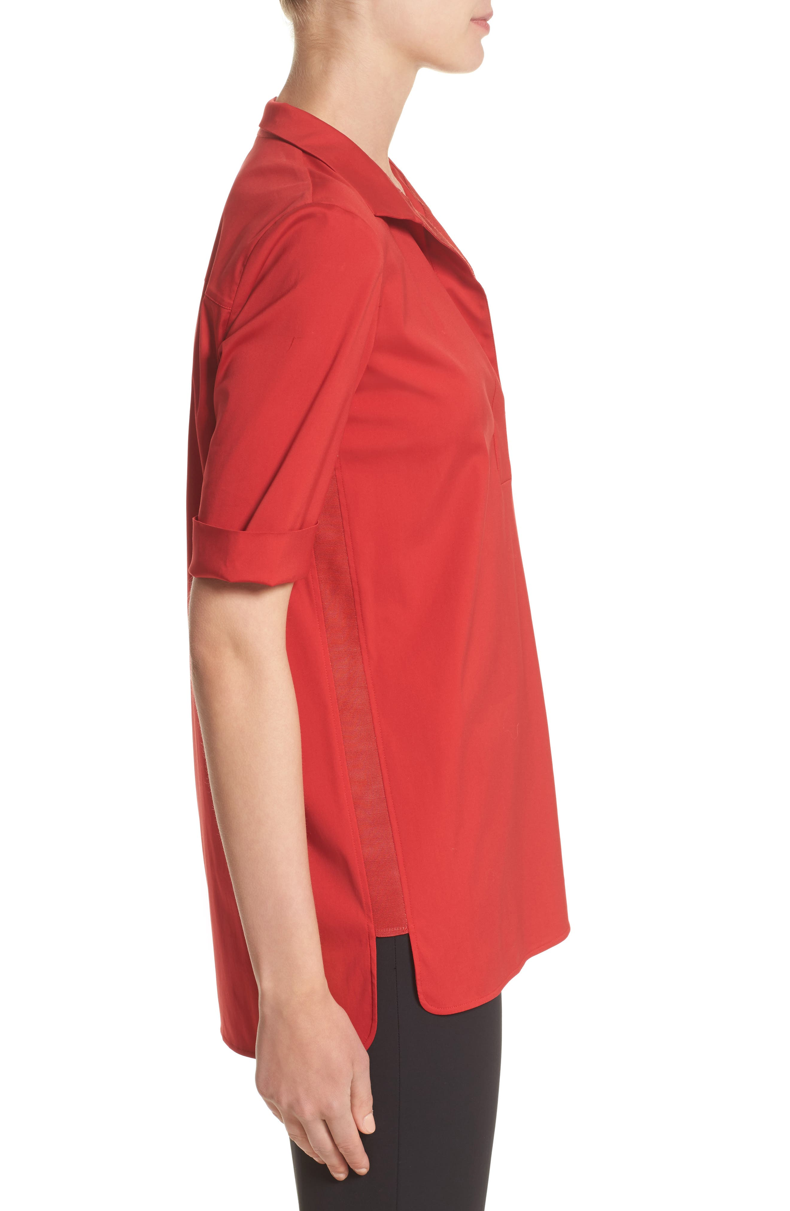 Daley High/Low Blouse,                             Alternate thumbnail 5, color,