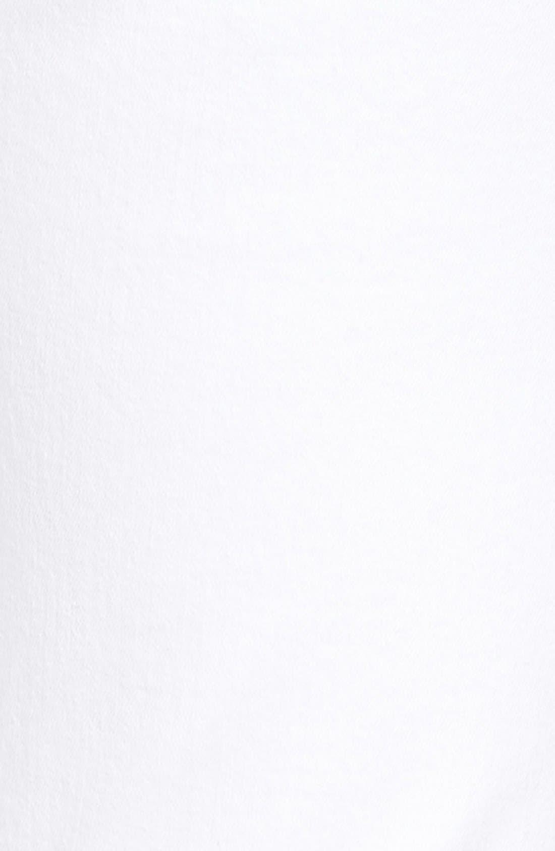 Rocket High Waist Crop Skinny Jeans,                             Alternate thumbnail 8, color,                             SCULPT WHITE