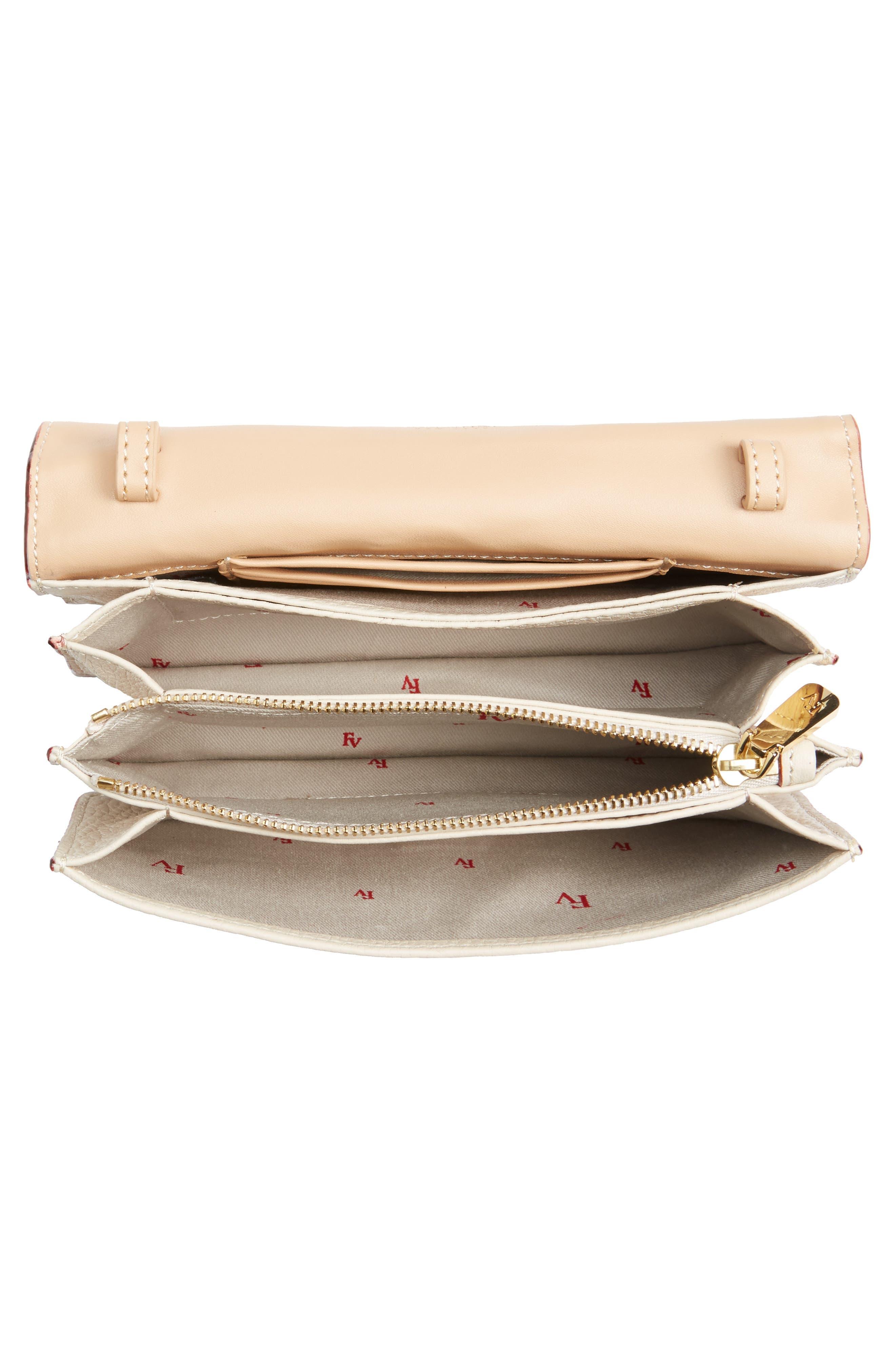 Calfskin Leather Crossbody Wallet,                             Alternate thumbnail 14, color,
