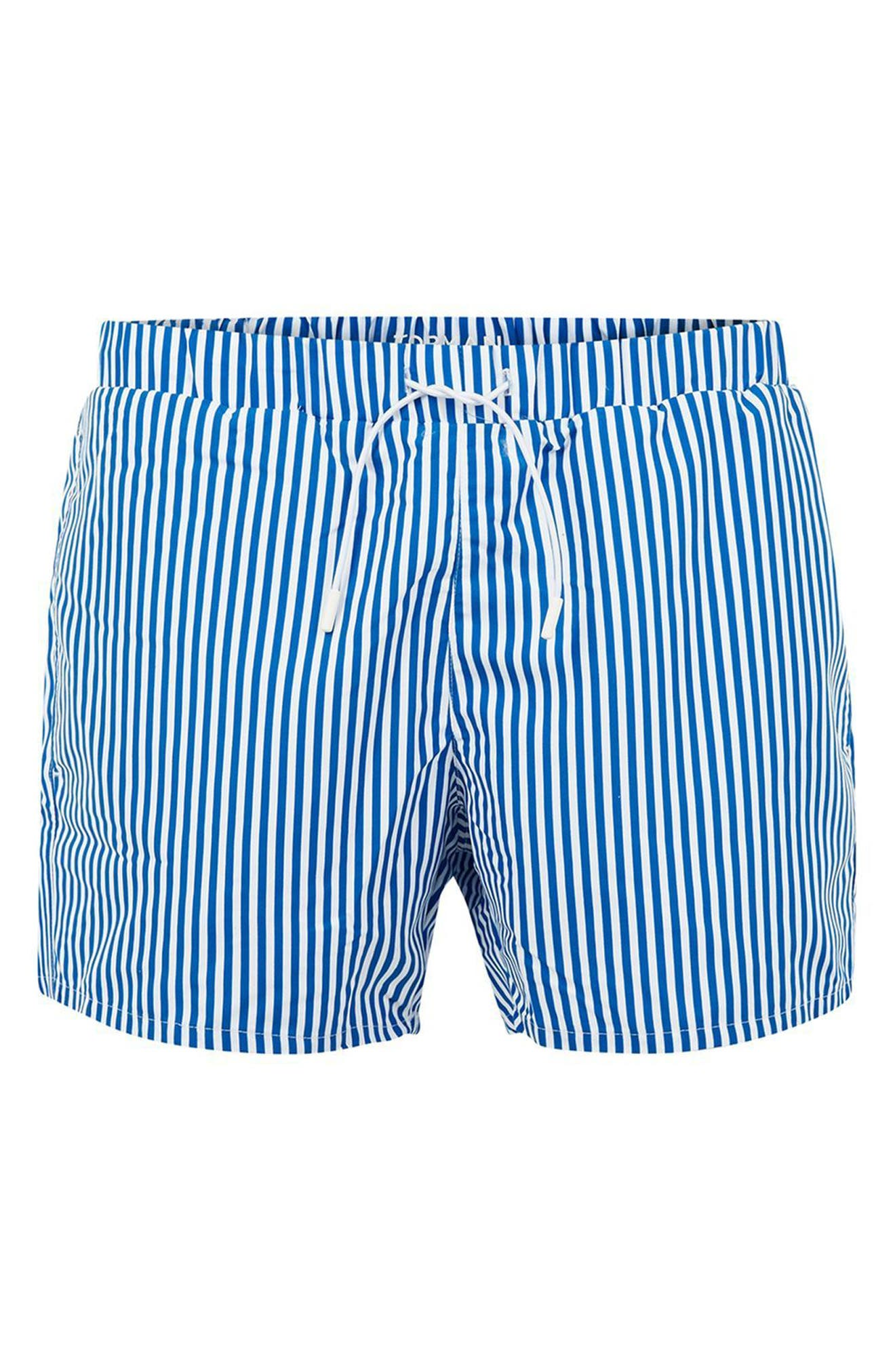Stripe Swim Trunks,                             Alternate thumbnail 3, color,                             420