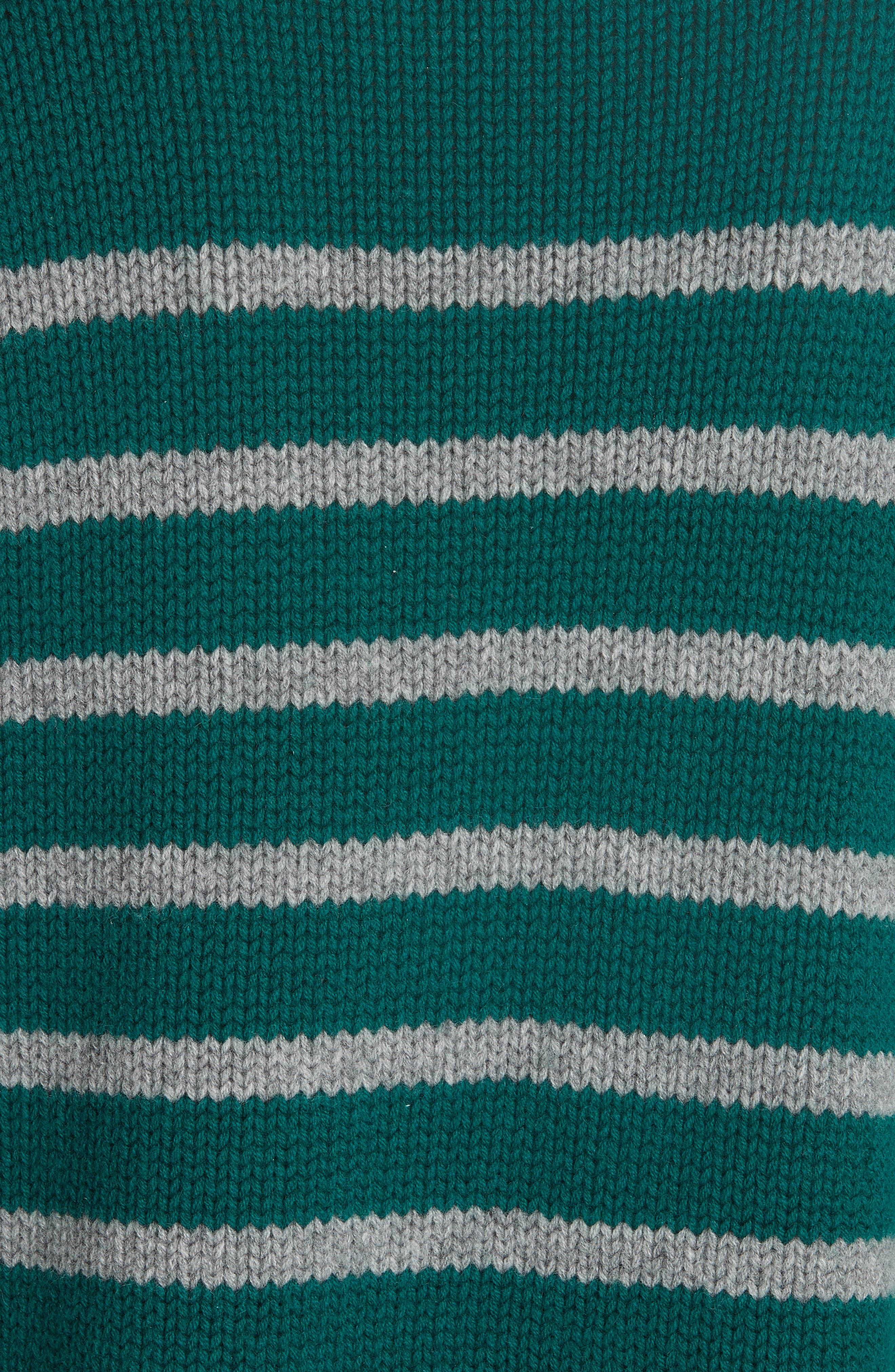 Marin Wool & Cashmere Sweater,                             Alternate thumbnail 5, color,                             FOREST GREEN/ GREY MARLE