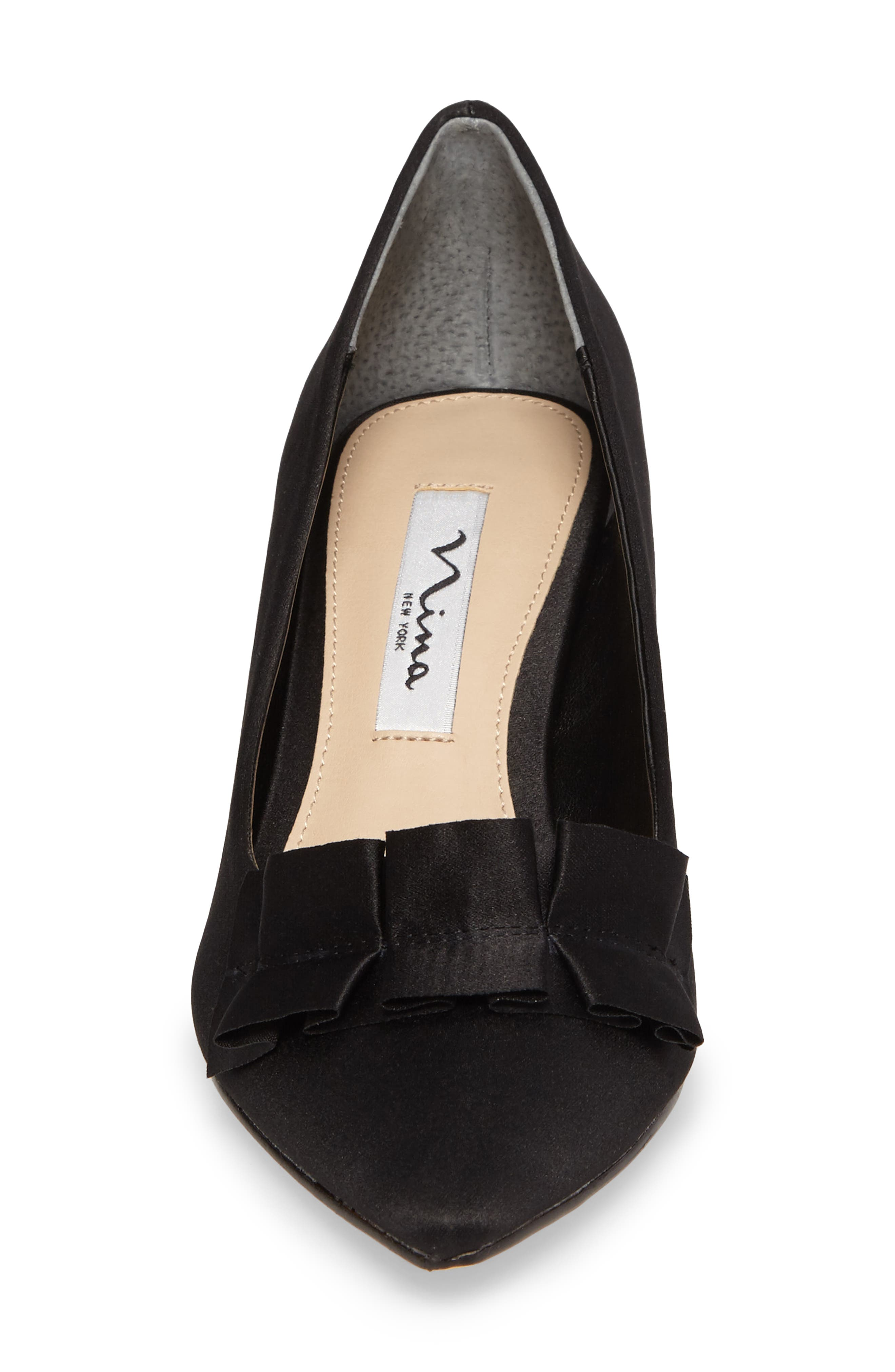Thea Pointy Toe Pump,                             Alternate thumbnail 4, color,                             003