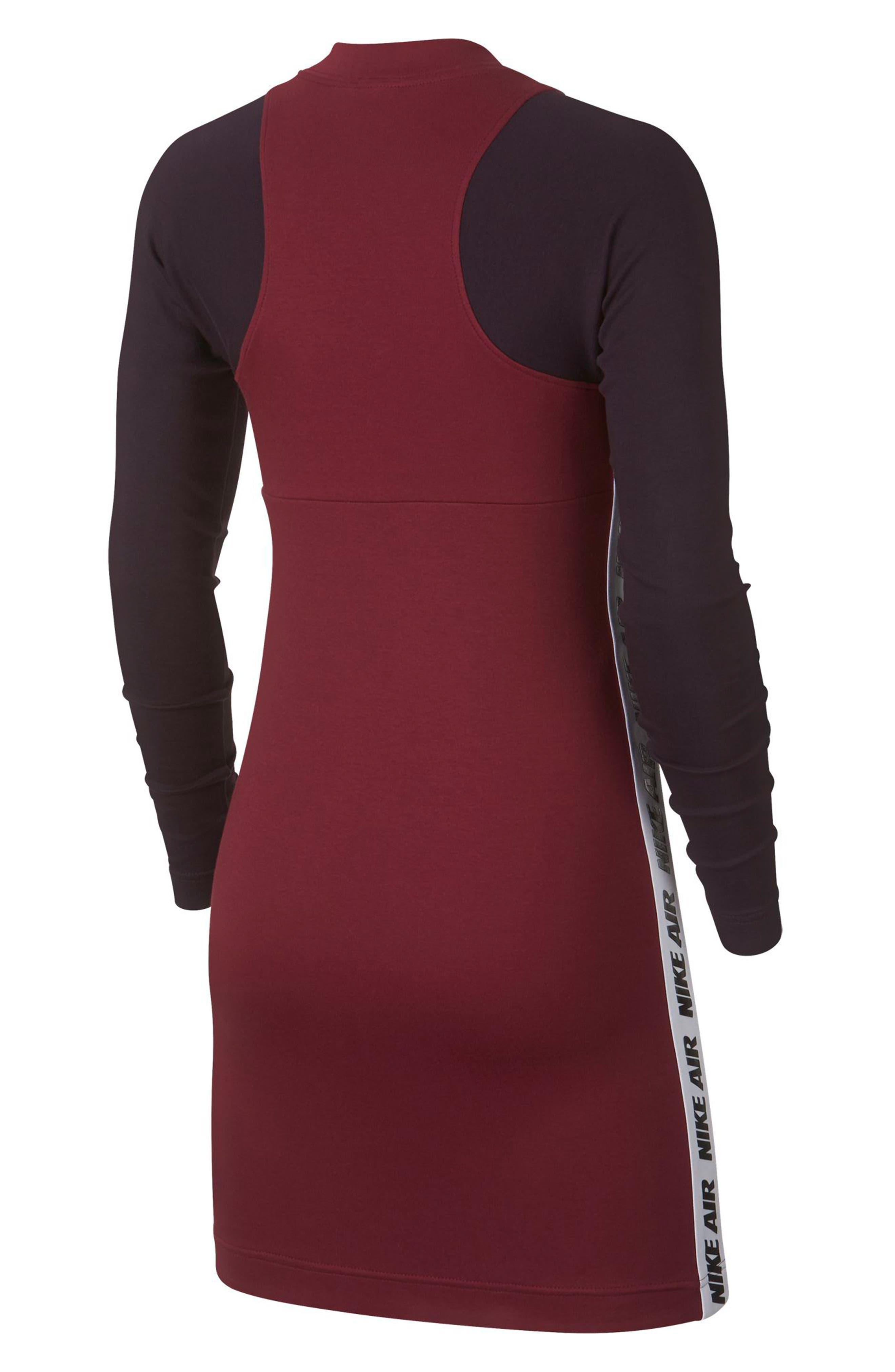 Sportswear Body-Con Jersey Dress,                             Alternate thumbnail 2, color,                             TEAM RED