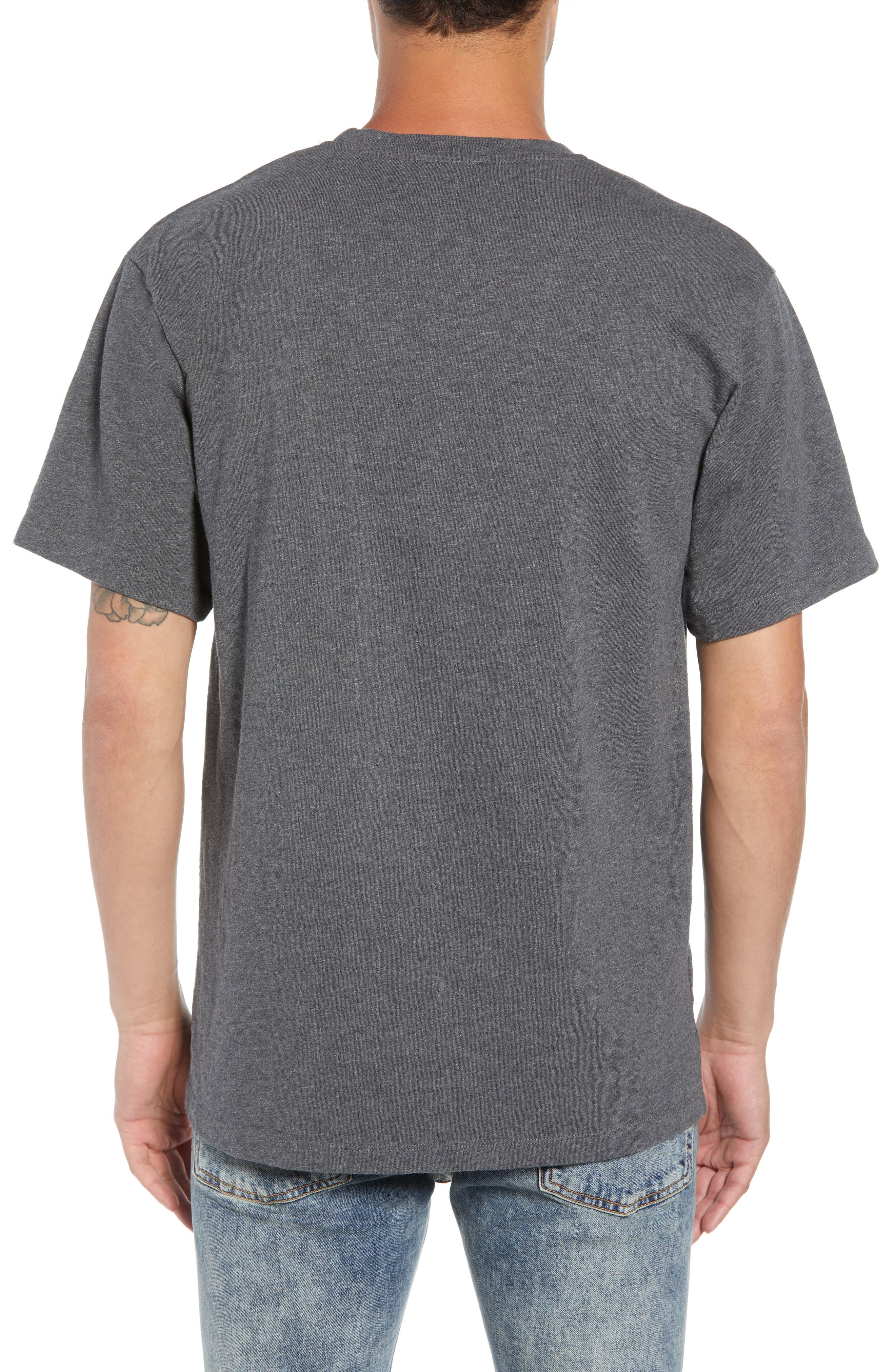 Fire Walk with Me Graphic T-Shirt,                             Alternate thumbnail 2, color,                             GREY