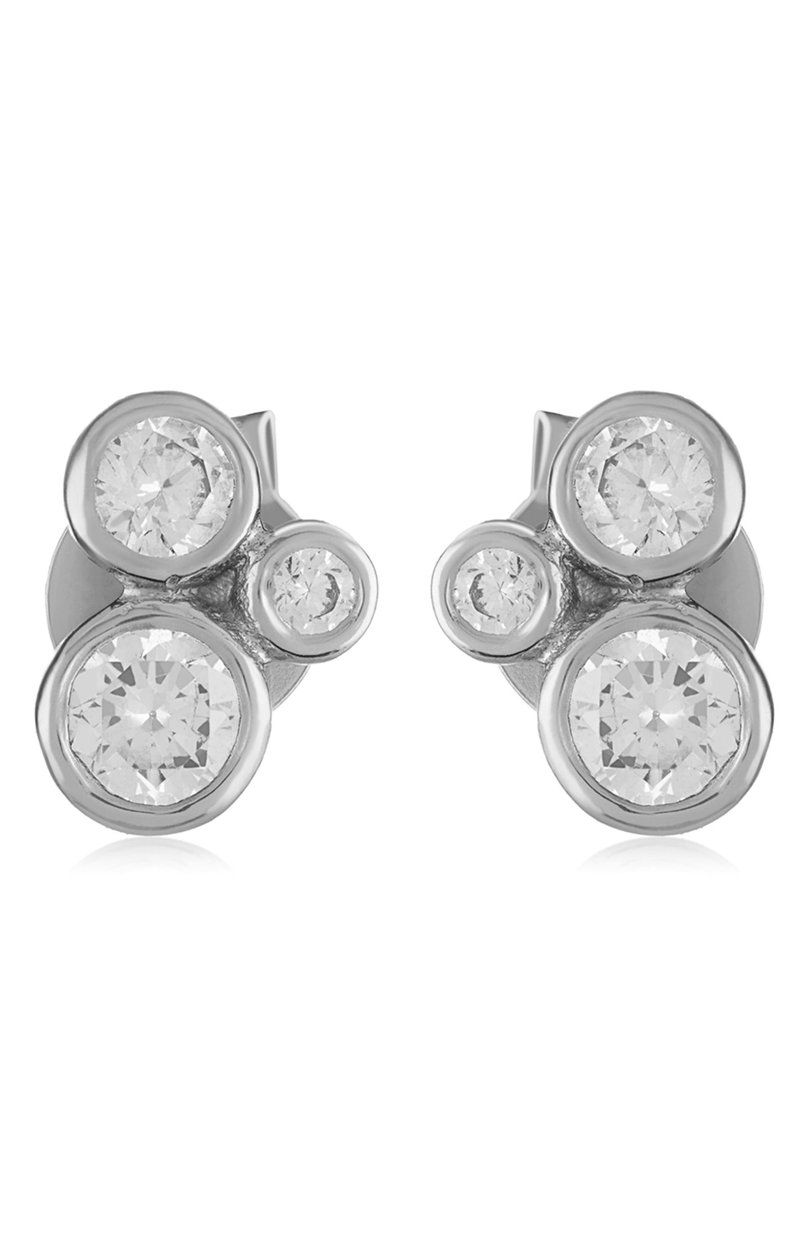 Jasmine Stud Earrings,                             Alternate thumbnail 3, color,                             040