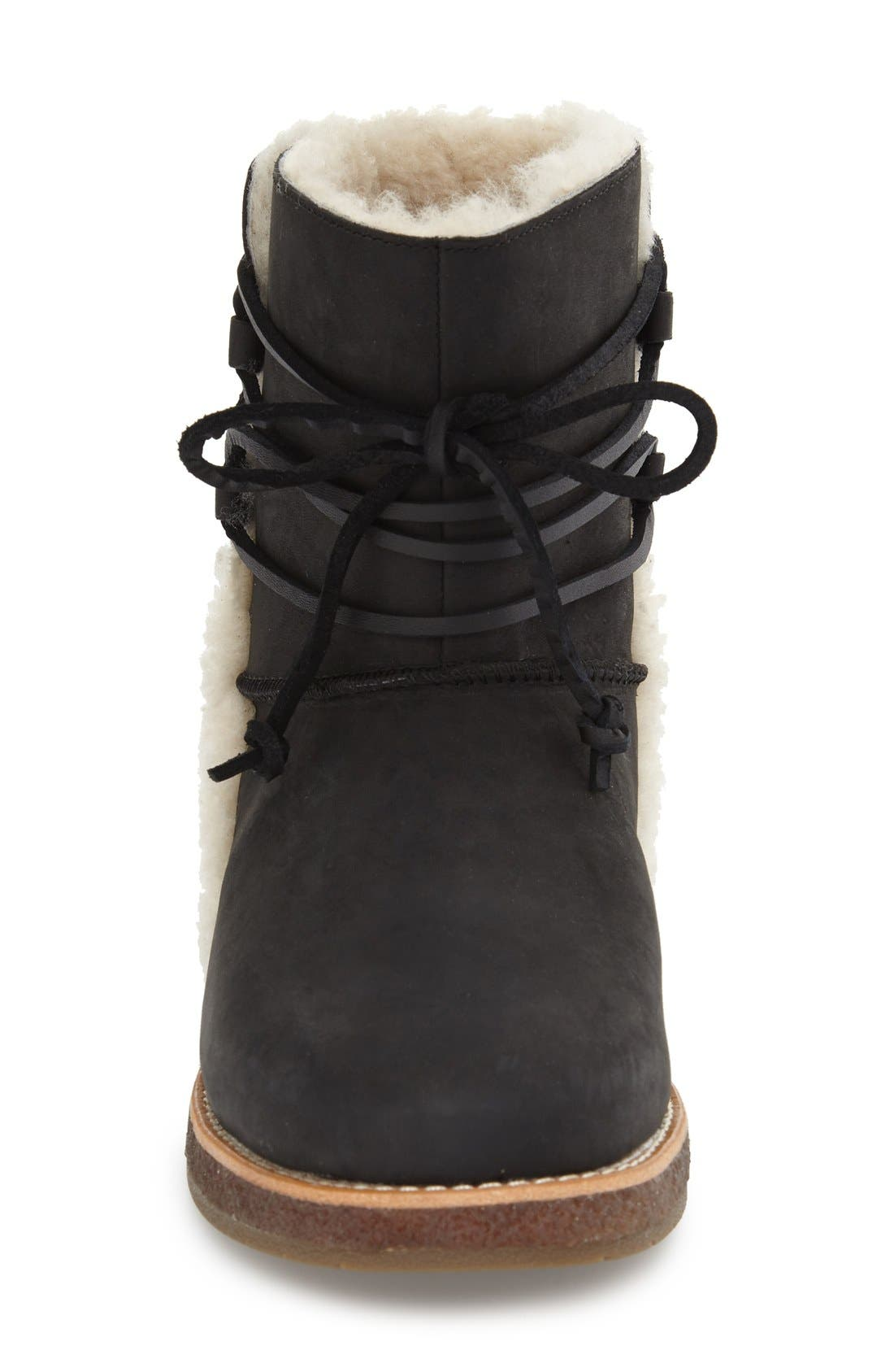 'Luisa' Boot,                             Alternate thumbnail 4, color,                             001