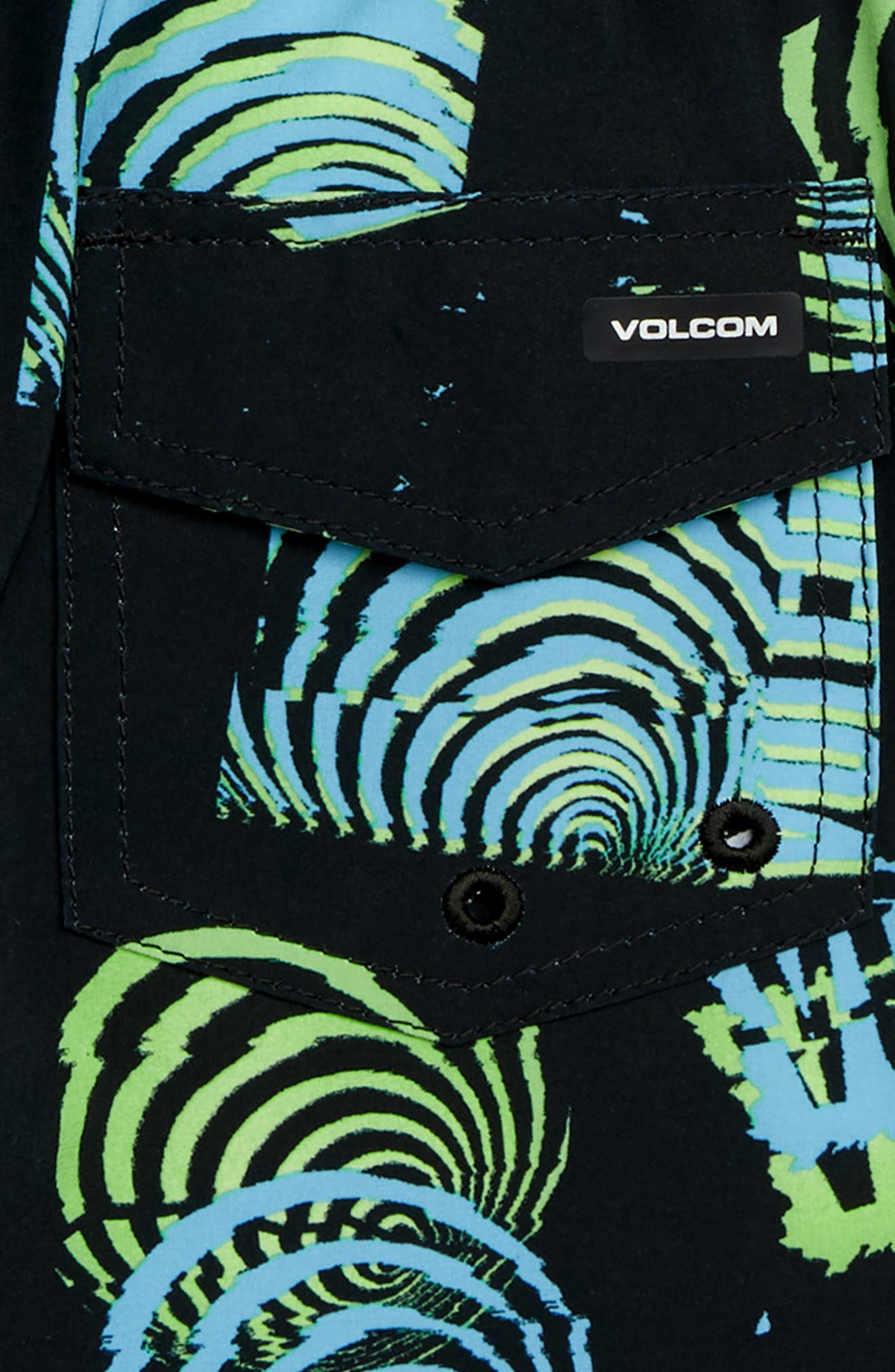 Nothing More Volley Shorts,                             Alternate thumbnail 3, color,                             BLACK